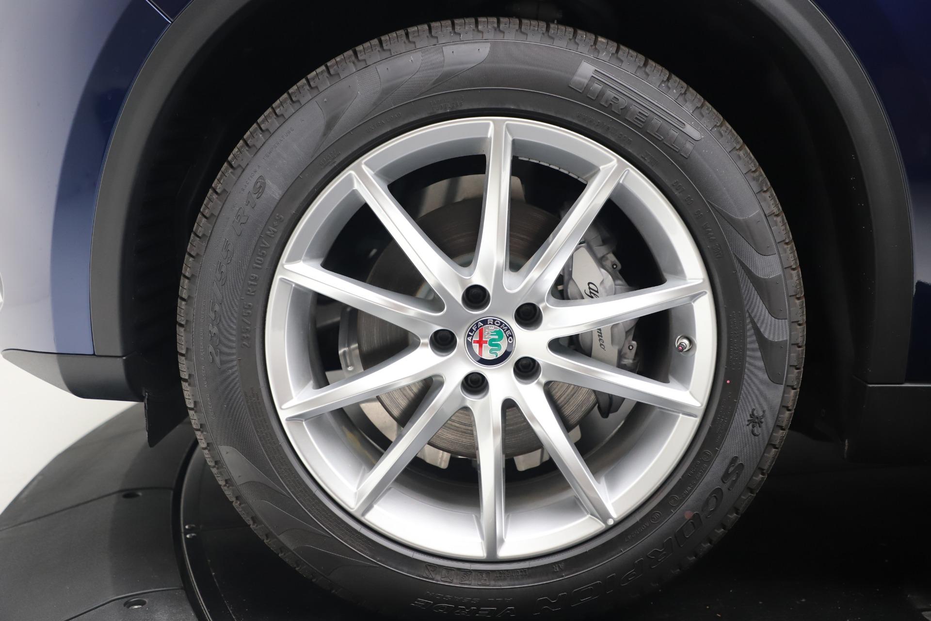 New 2019 Alfa Romeo Stelvio Ti Lusso Q4 For Sale In Greenwich, CT 3259_p30