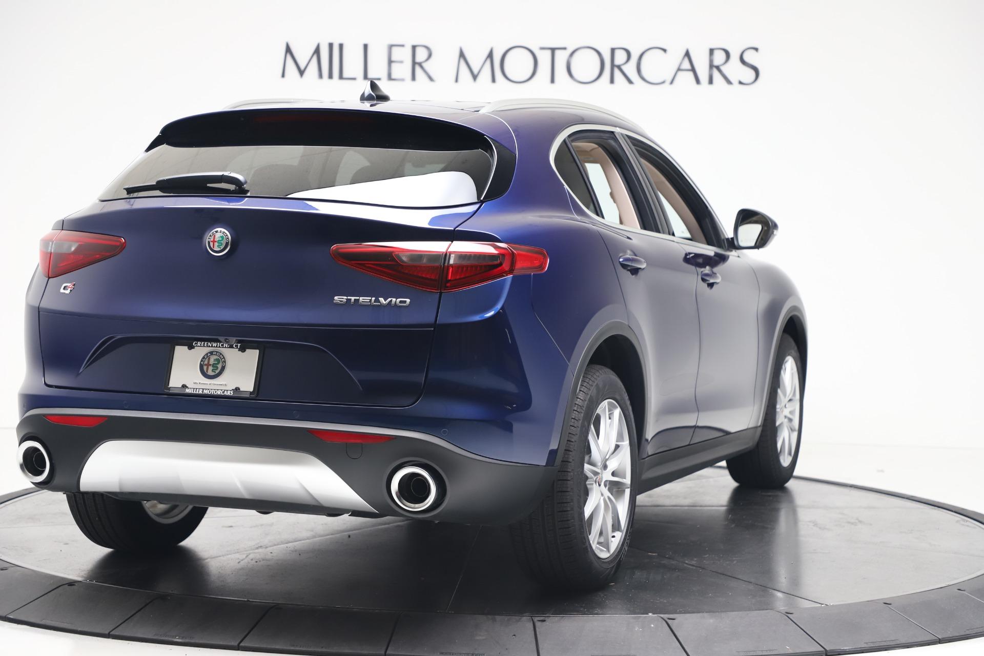 New 2019 Alfa Romeo Stelvio Ti Lusso Q4 For Sale In Greenwich, CT 3259_p7