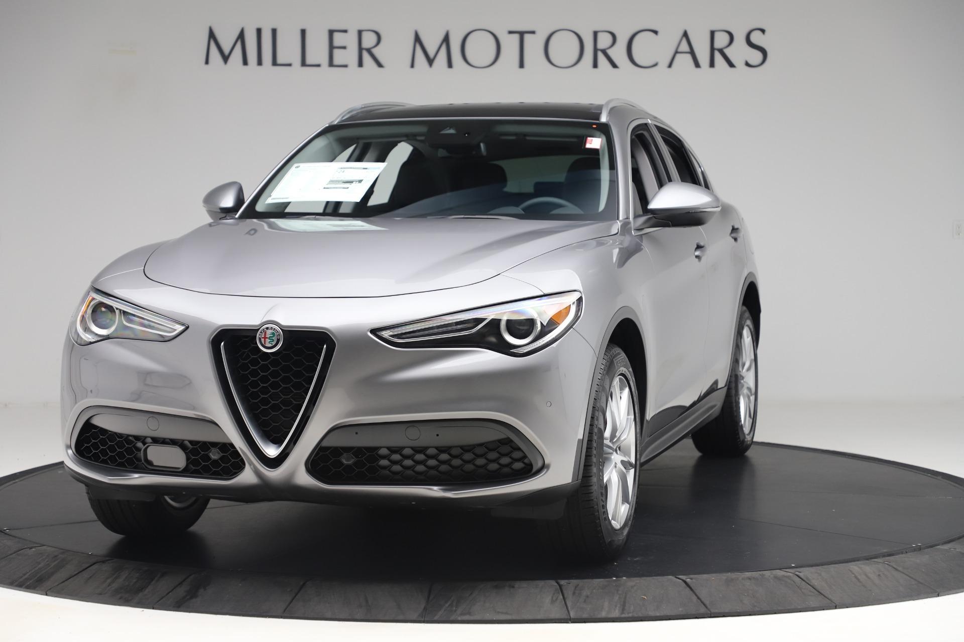 New 2019 Alfa Romeo Stelvio Ti Lusso Q4 For Sale In Greenwich, CT 3260_main