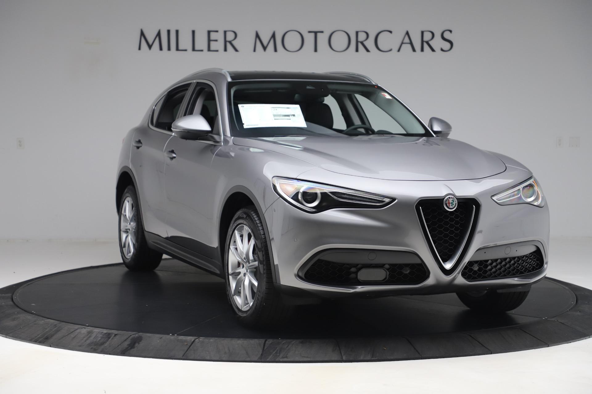 New 2019 Alfa Romeo Stelvio Ti Lusso Q4 For Sale In Greenwich, CT 3260_p11