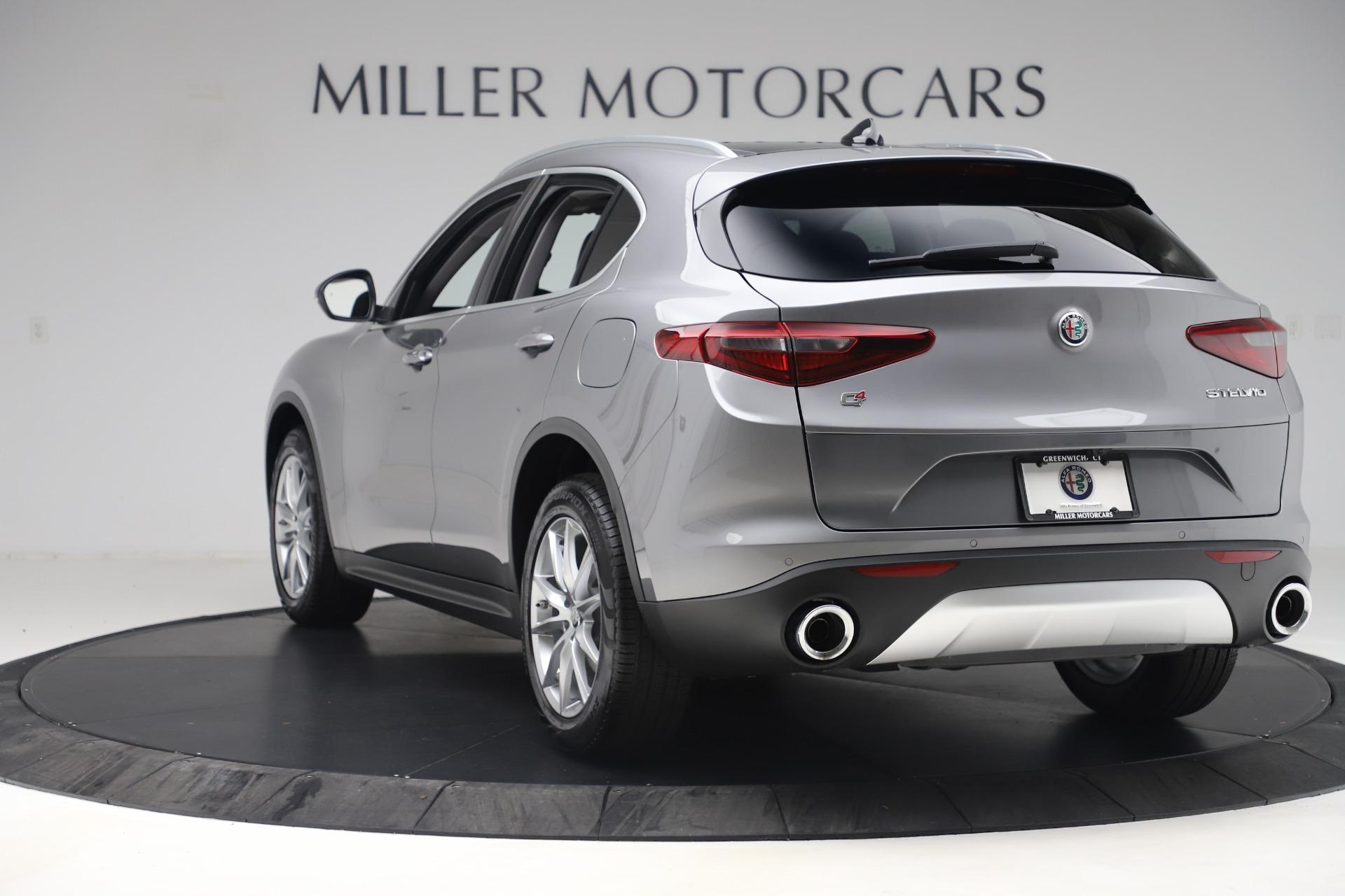 New 2019 Alfa Romeo Stelvio Ti Lusso Q4 For Sale In Greenwich, CT 3260_p5
