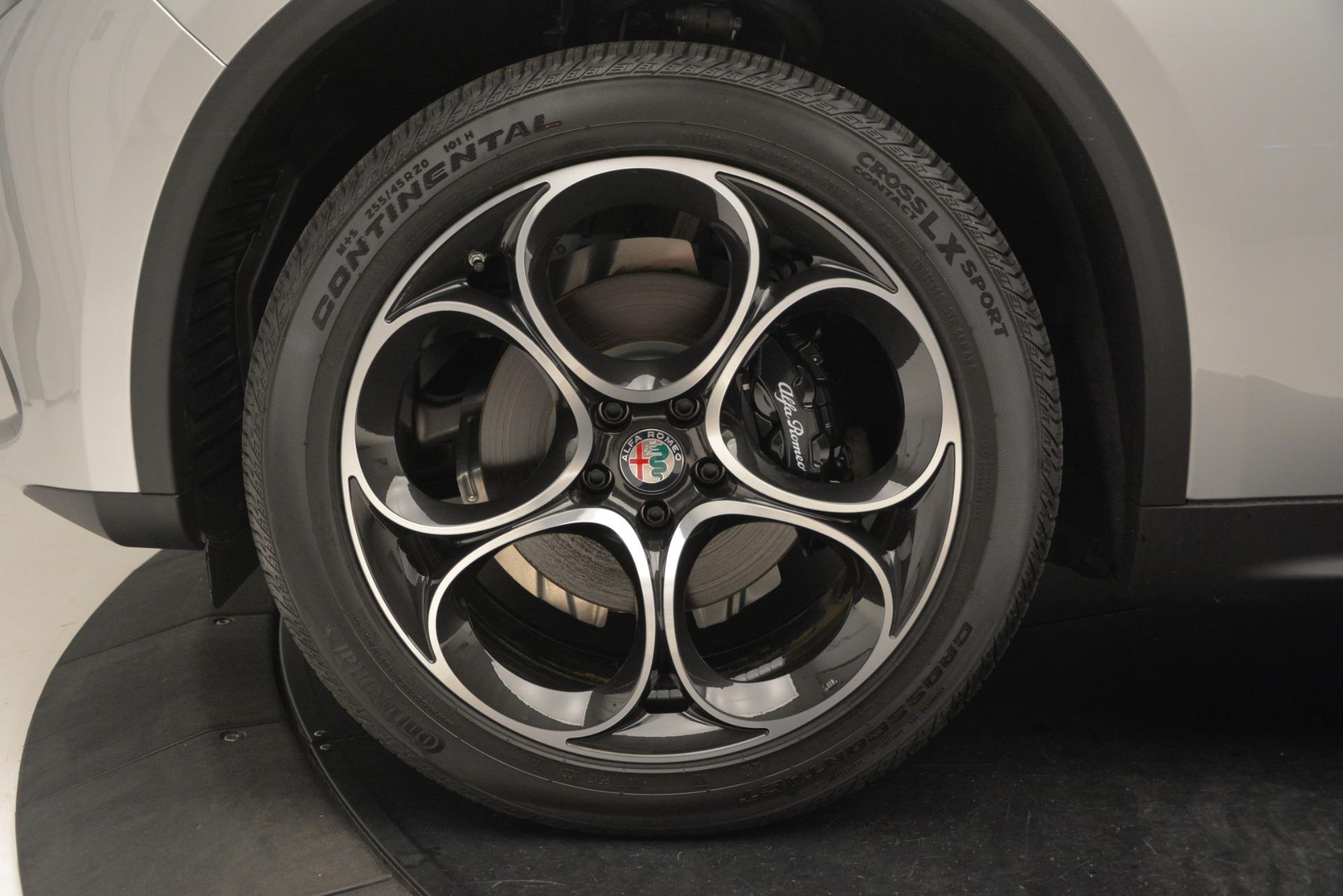 New 2019 Alfa Romeo Stelvio Ti Sport Q4 For Sale In Greenwich, CT 3261_p30