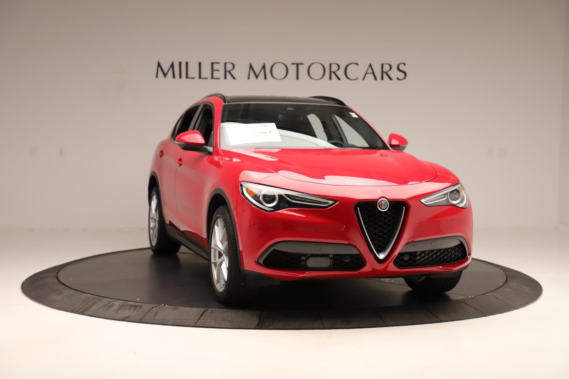 New 2019 Alfa Romeo Stelvio Ti Sport Q4 For Sale In Greenwich, CT 3262_p11