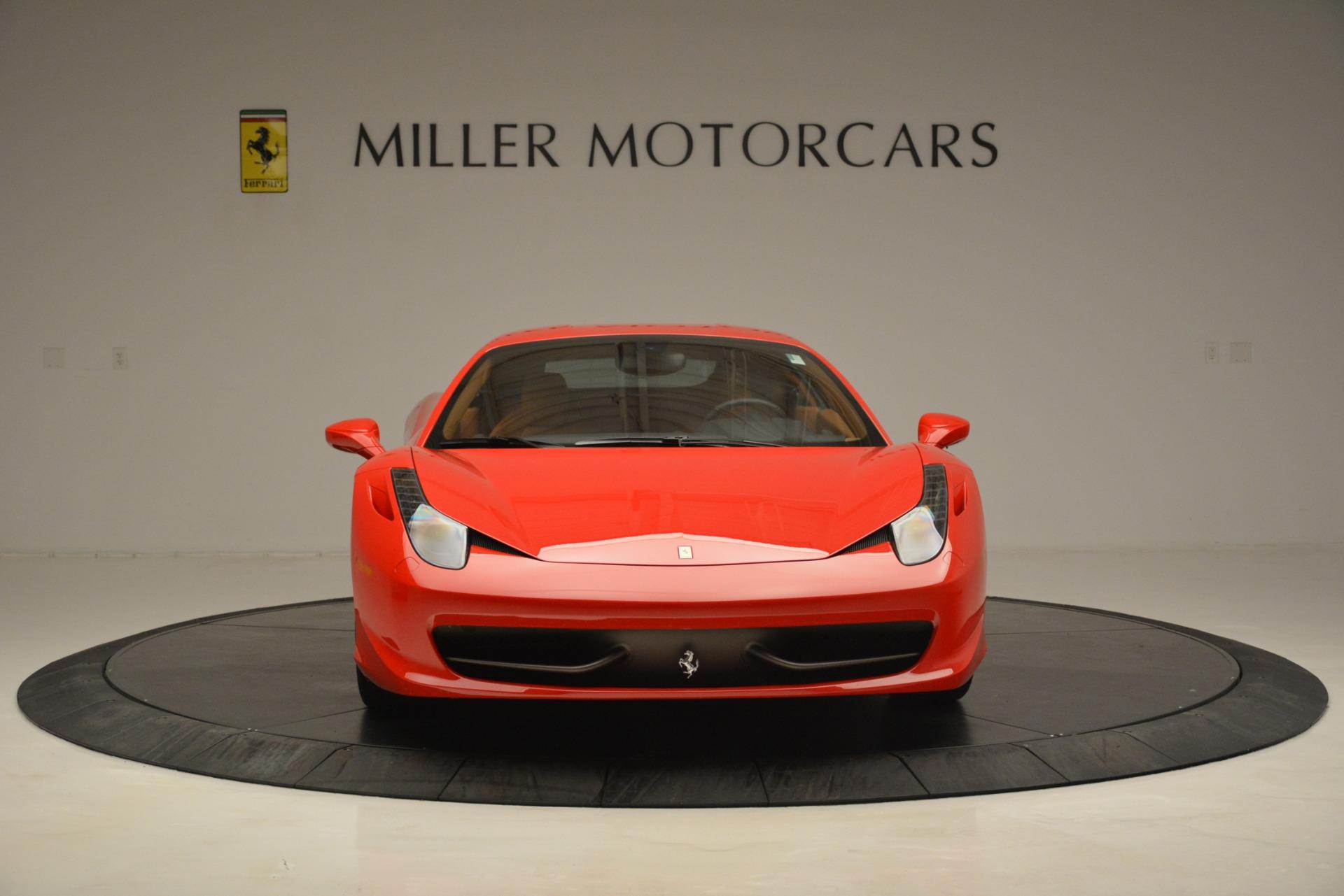 Used 2014 Ferrari 458 Italia  For Sale In Greenwich, CT 3271_p12