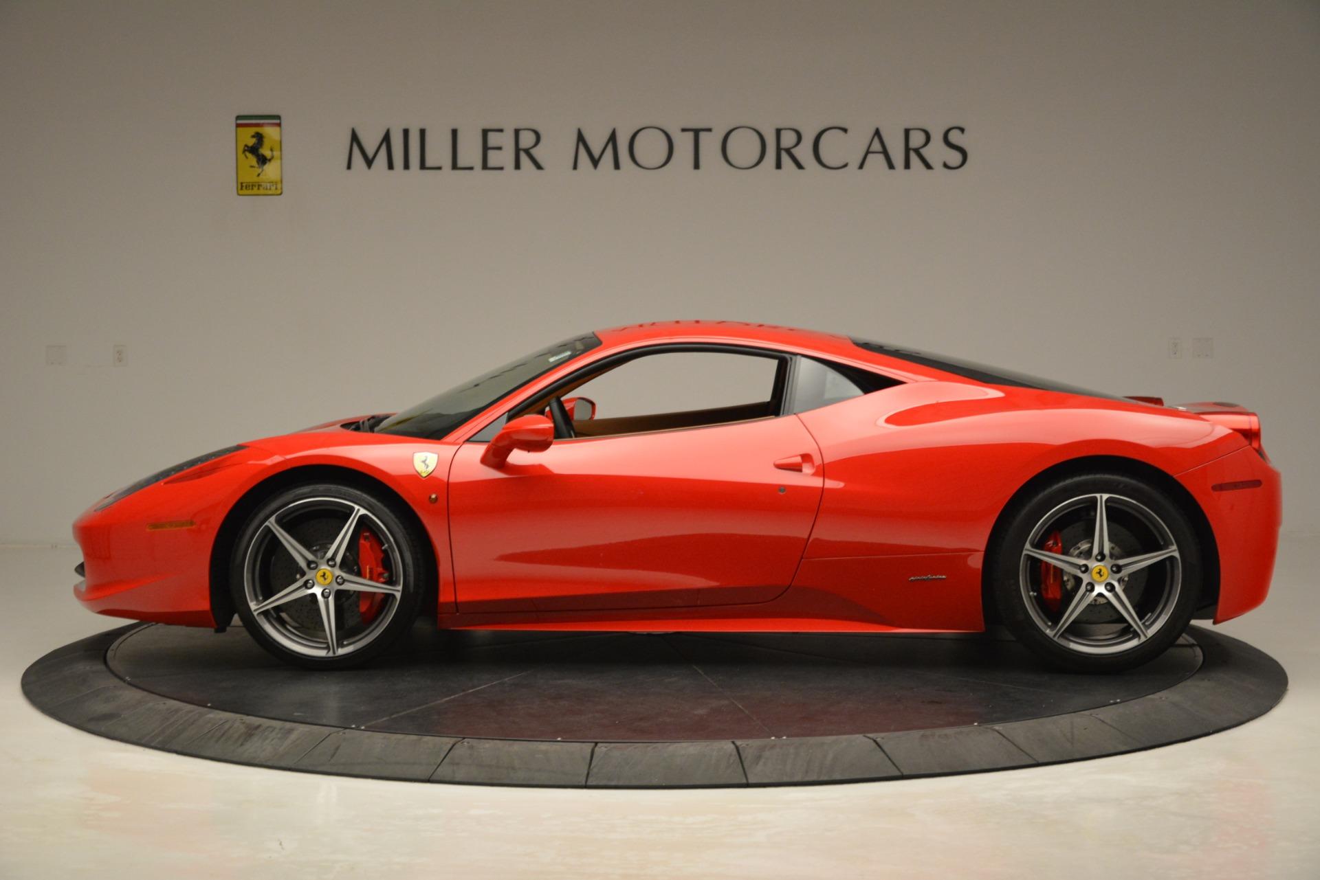 Used 2014 Ferrari 458 Italia  For Sale In Greenwich, CT 3271_p3