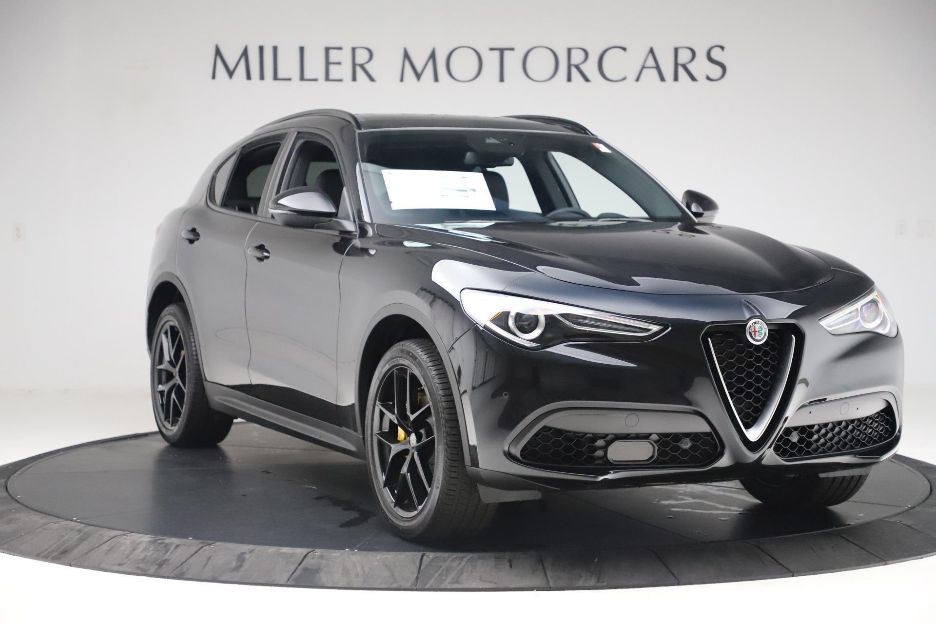 New 2019 Alfa Romeo Stelvio Ti Sport Q4 For Sale In Greenwich, CT 3283_p11