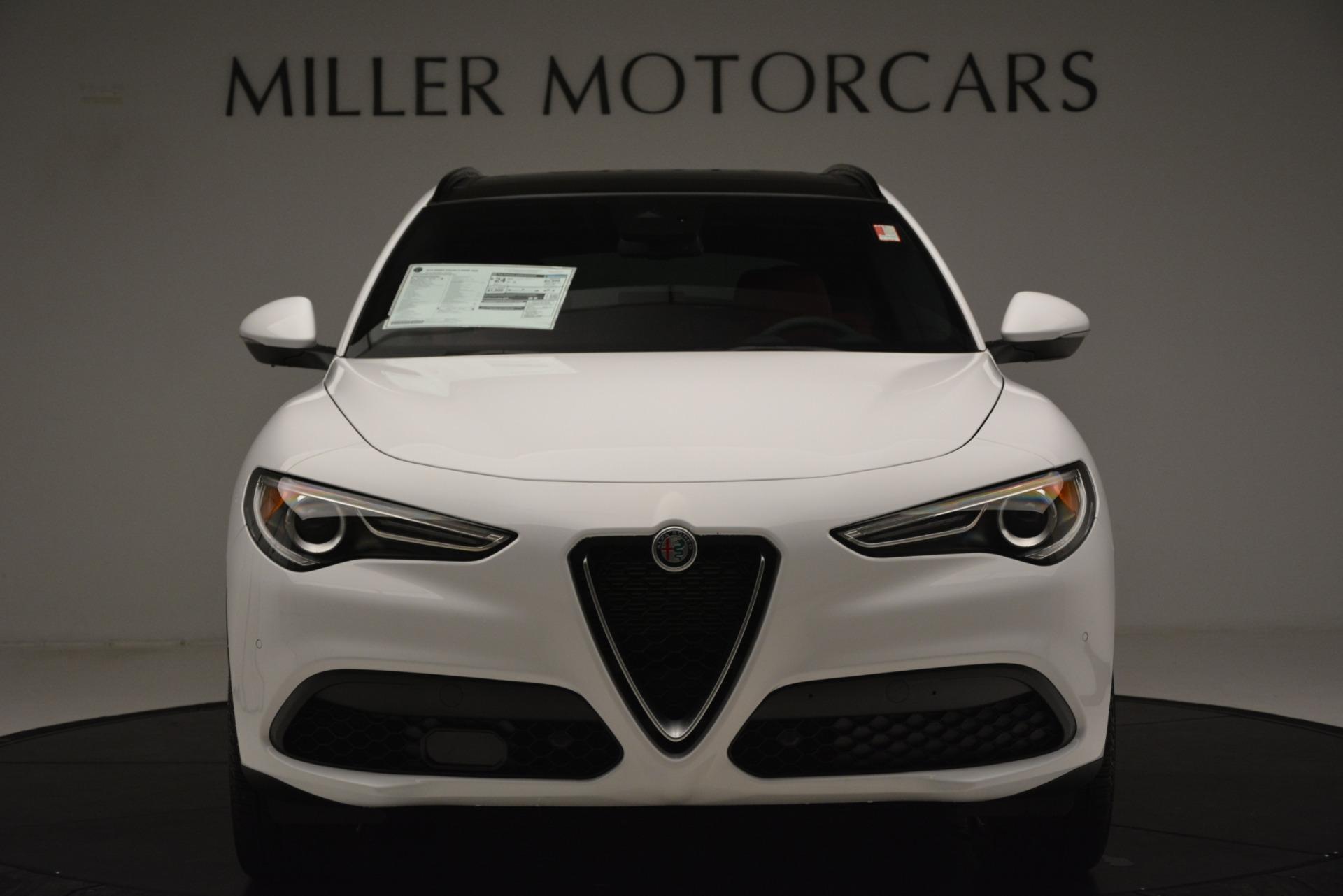 New 2019 Alfa Romeo Stelvio Ti Sport Q4 For Sale In Greenwich, CT 3285_p12
