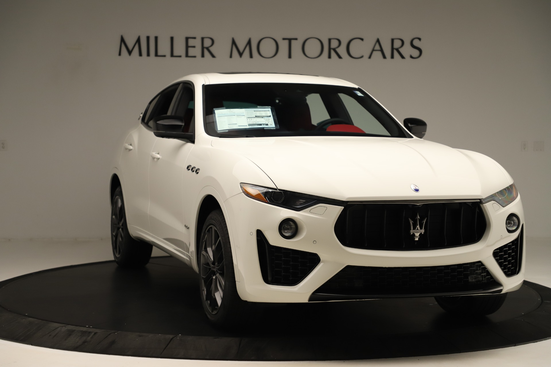 New 2019 Maserati Levante Q4 GranSport Nerissimo For Sale In Greenwich, CT 3300_p11