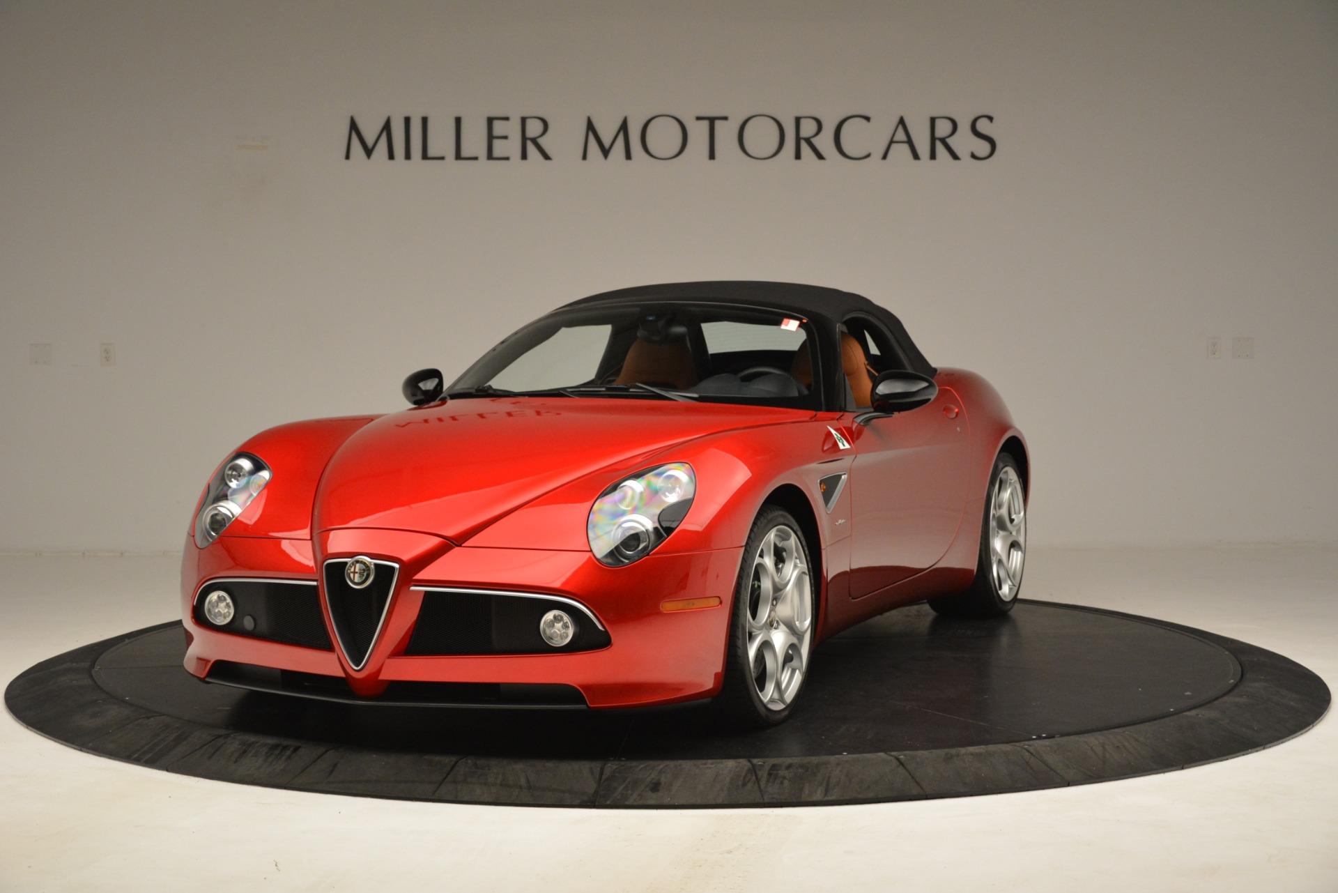 Used 2009 Alfa Romeo 8c Spider  For Sale In Greenwich, CT 3302_p13