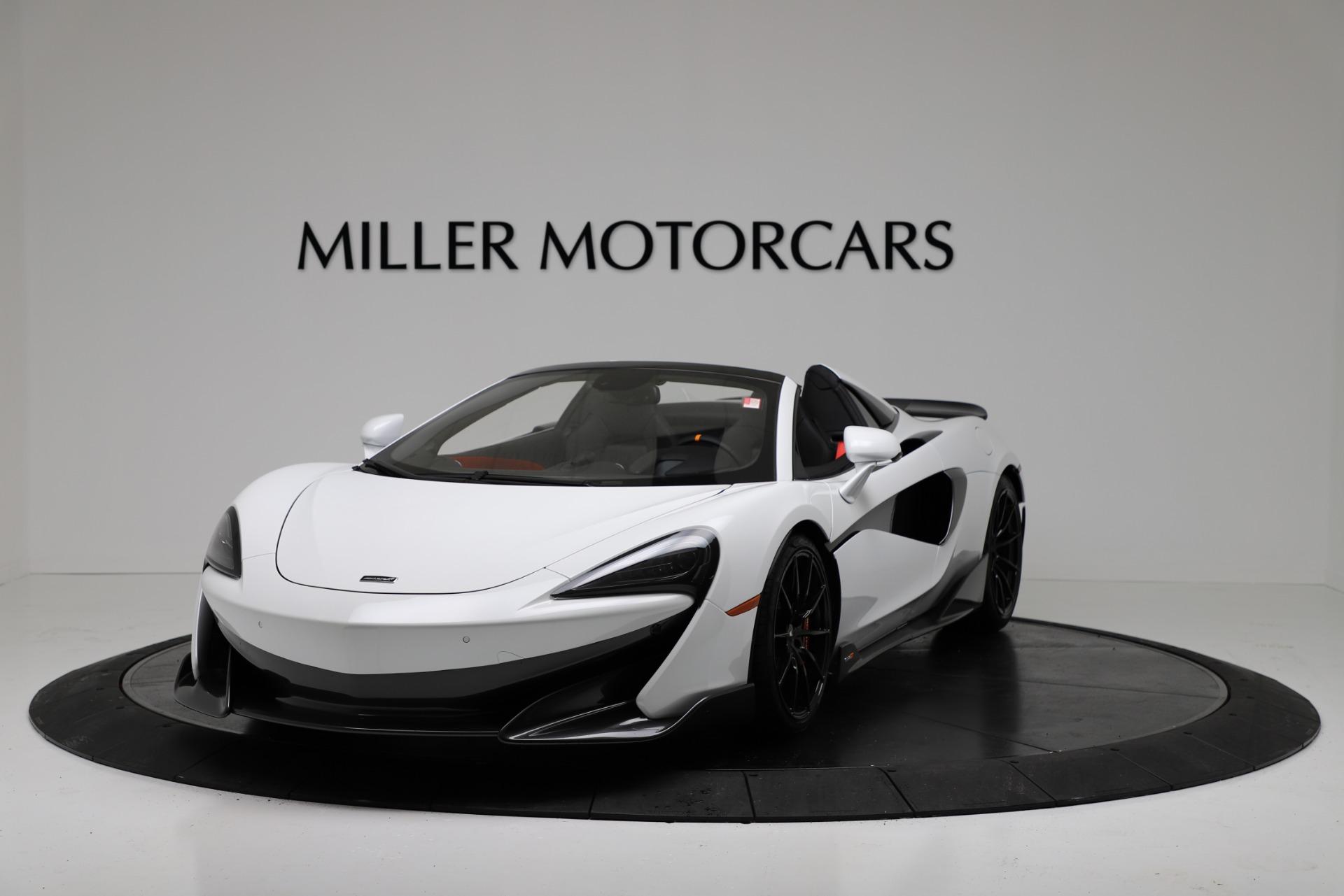 New 2020 McLaren 600LT Spider For Sale In Greenwich, CT 3314_p2