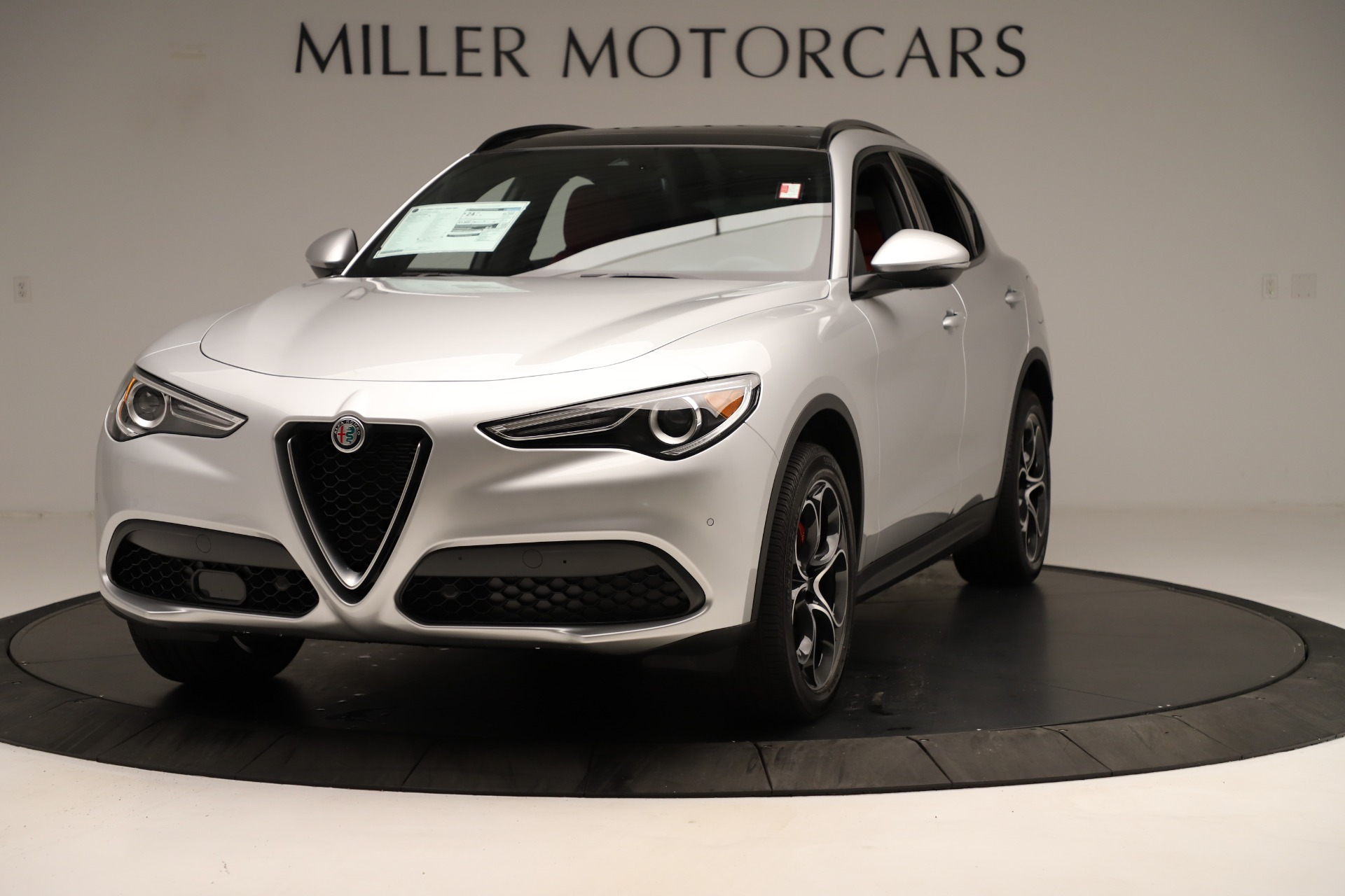New 2019 Alfa Romeo Stelvio Ti Sport Q4 For Sale In Greenwich, CT 3323_main