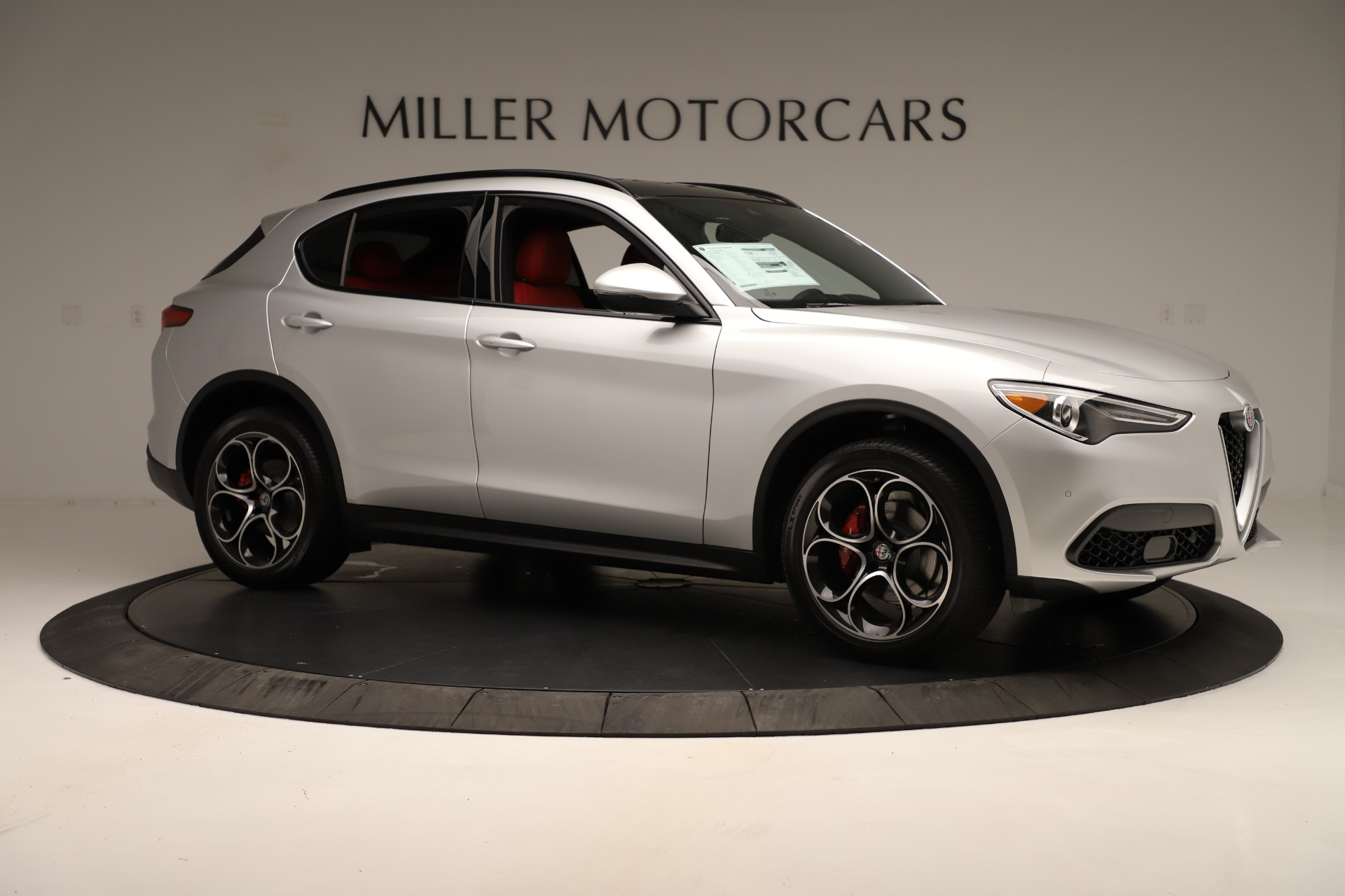 New 2019 Alfa Romeo Stelvio Ti Sport Q4 For Sale In Greenwich, CT 3323_p10