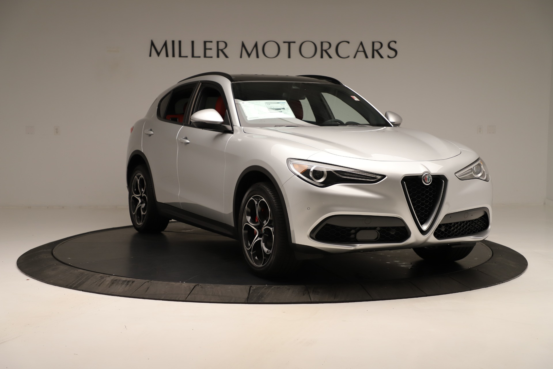 New 2019 Alfa Romeo Stelvio Ti Sport Q4 For Sale In Greenwich, CT 3323_p11
