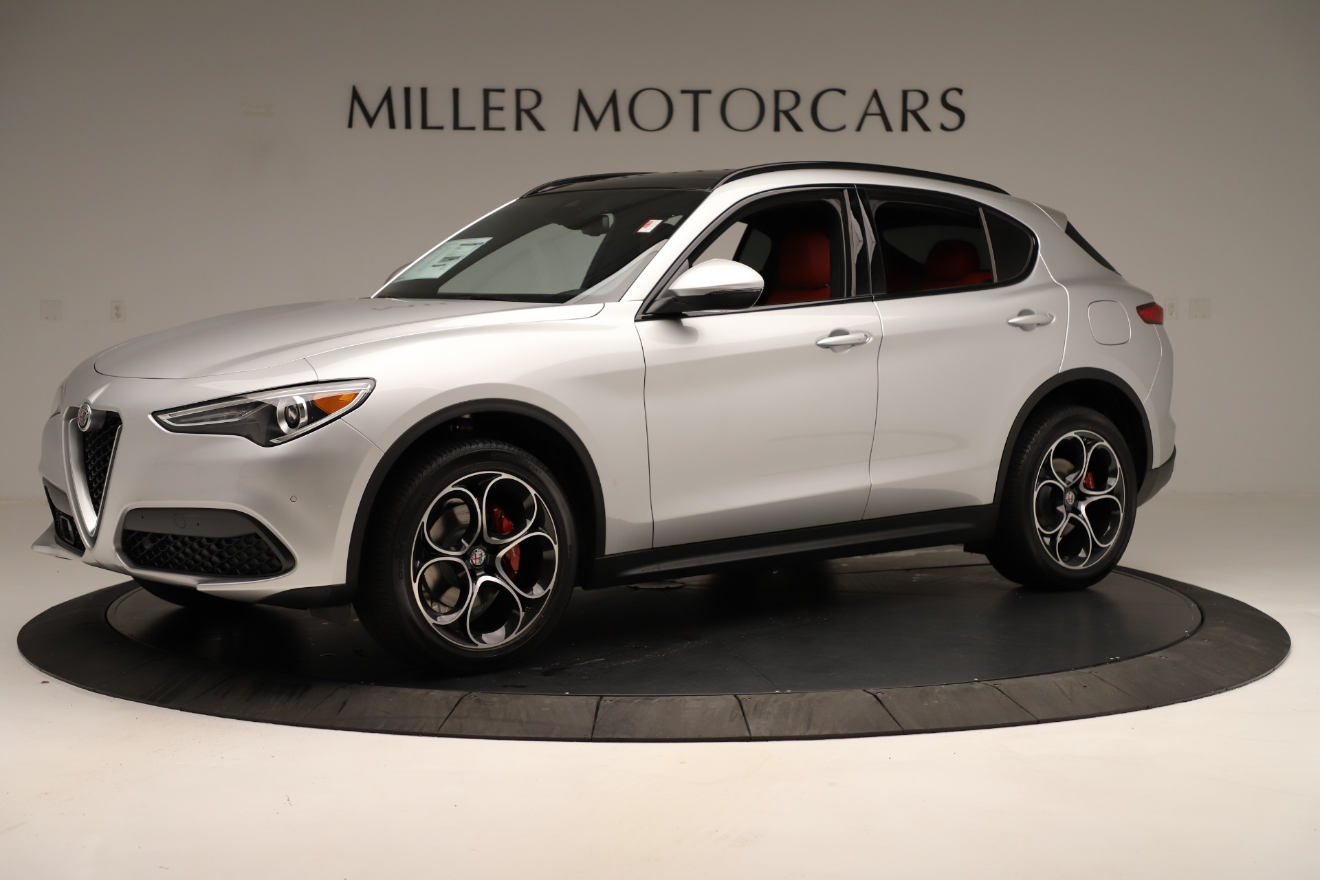 New 2019 Alfa Romeo Stelvio Ti Sport Q4 For Sale In Greenwich, CT 3323_p2
