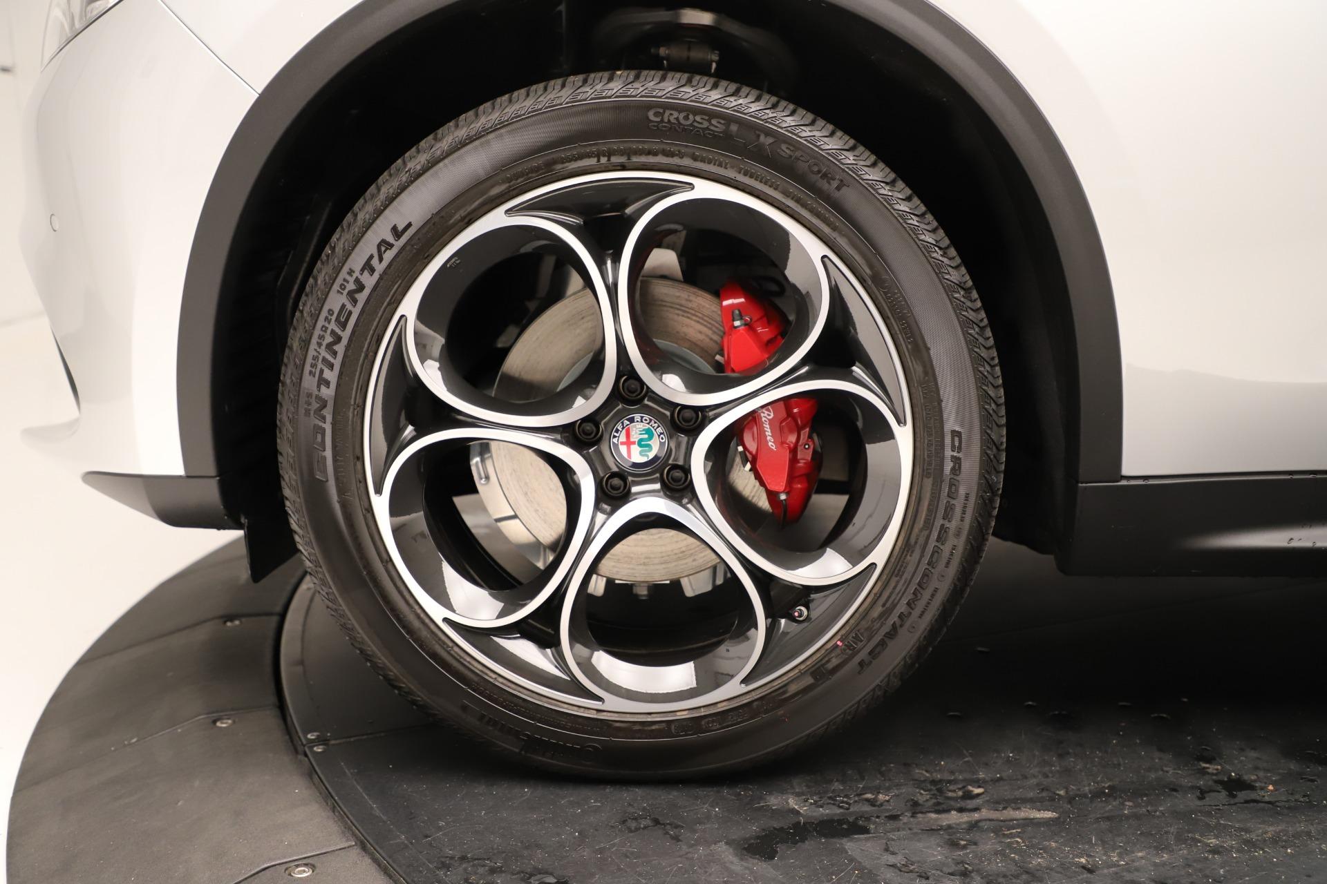New 2019 Alfa Romeo Stelvio Ti Sport Q4 For Sale In Greenwich, CT 3323_p30