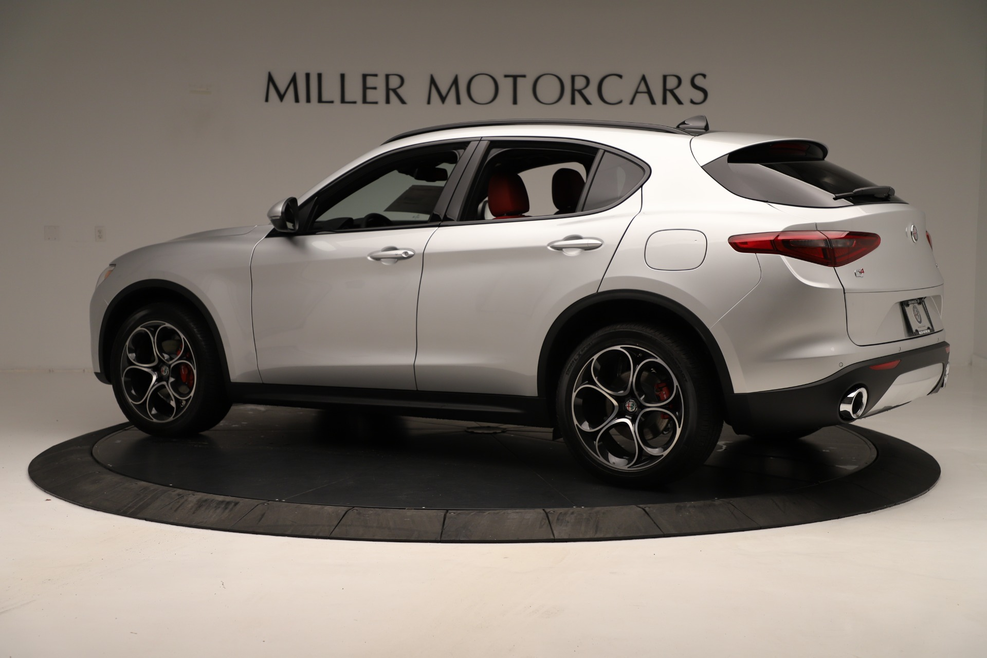 New 2019 Alfa Romeo Stelvio Ti Sport Q4 For Sale In Greenwich, CT 3323_p4