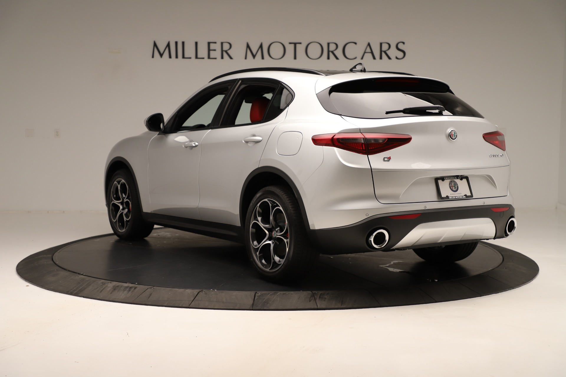 New 2019 Alfa Romeo Stelvio Ti Sport Q4 For Sale In Greenwich, CT 3323_p5