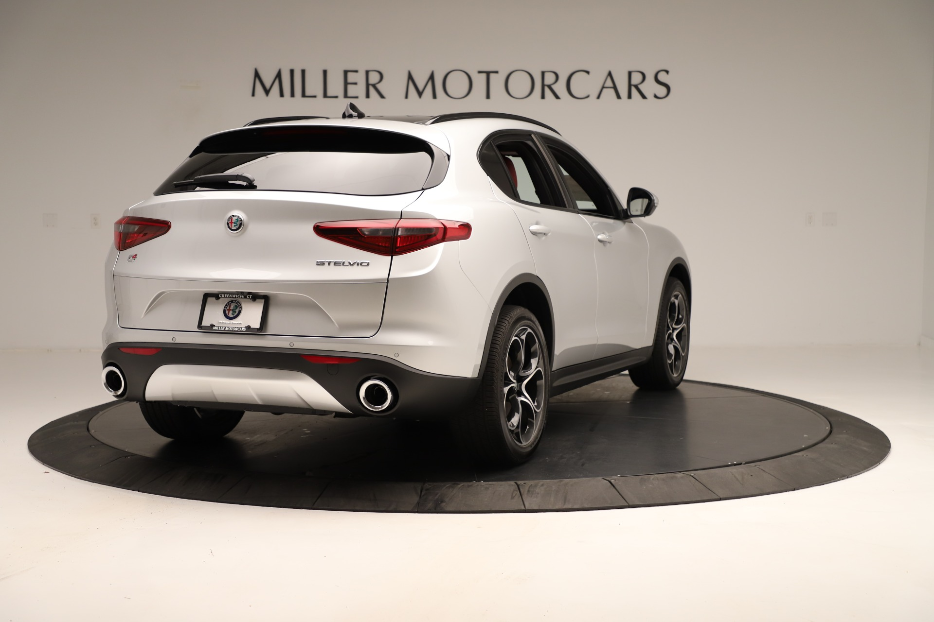 New 2019 Alfa Romeo Stelvio Ti Sport Q4 For Sale In Greenwich, CT 3323_p7