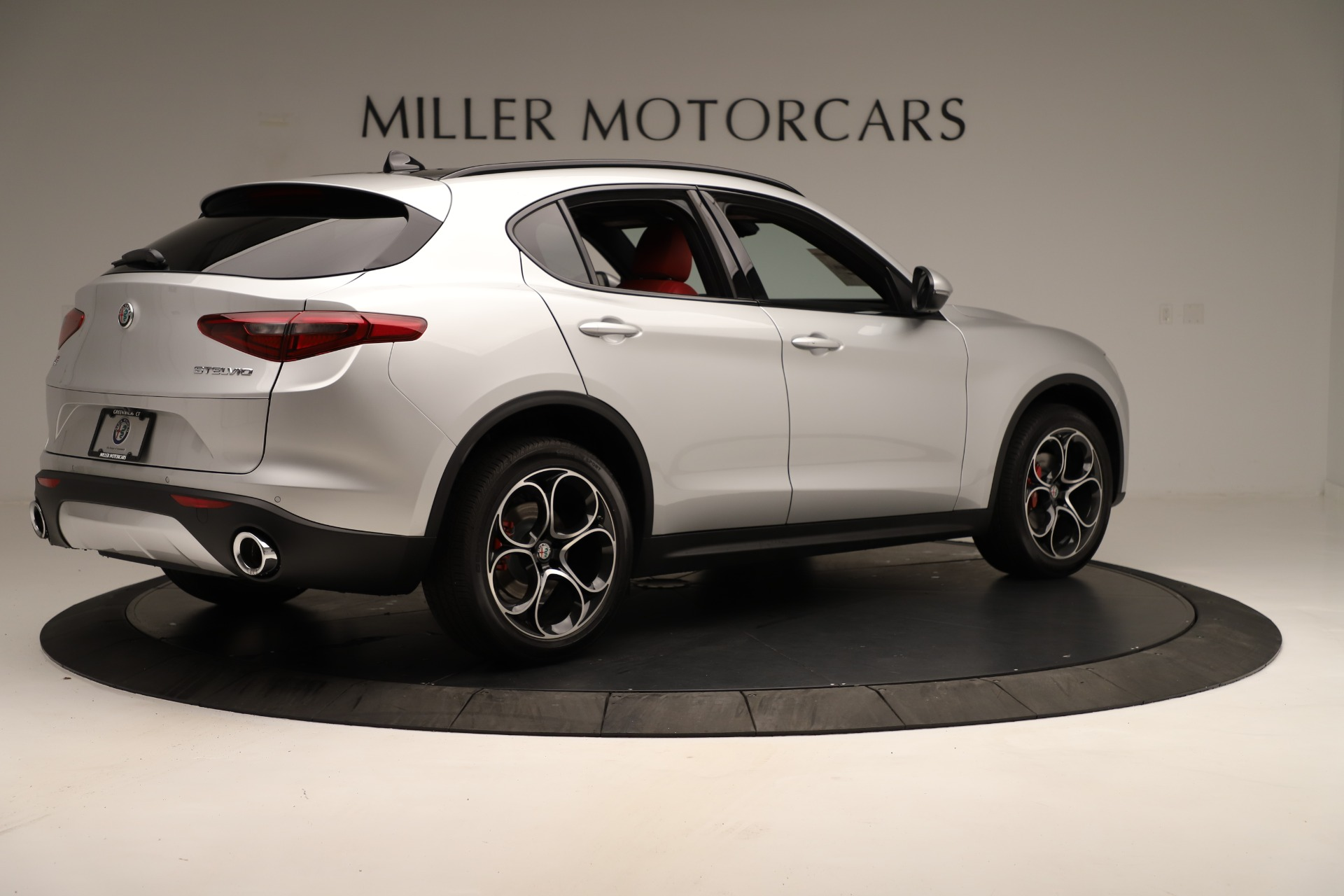New 2019 Alfa Romeo Stelvio Ti Sport Q4 For Sale In Greenwich, CT 3323_p8