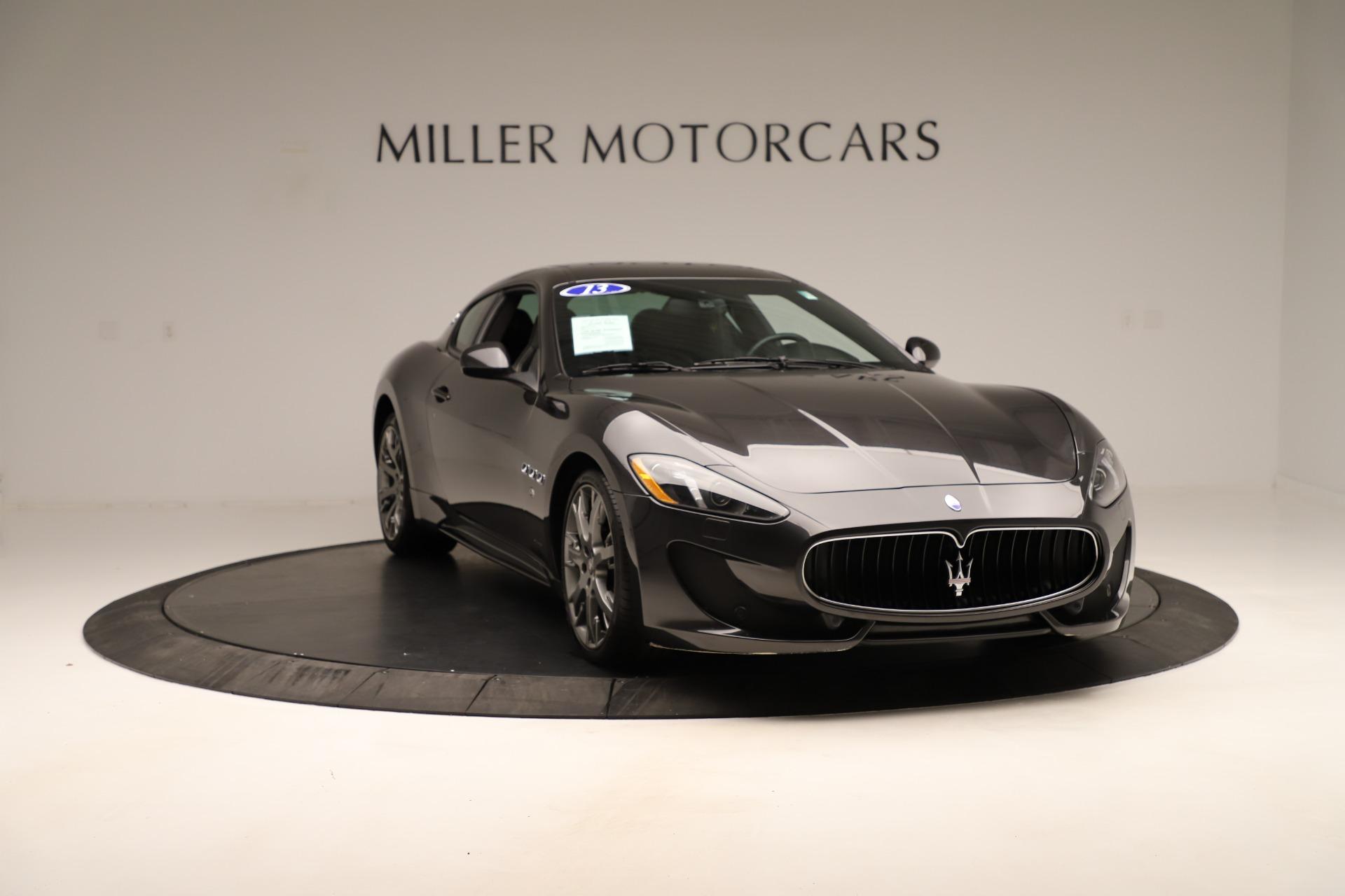 Used 2013 Maserati GranTurismo Sport For Sale In Greenwich, CT 3327_p11
