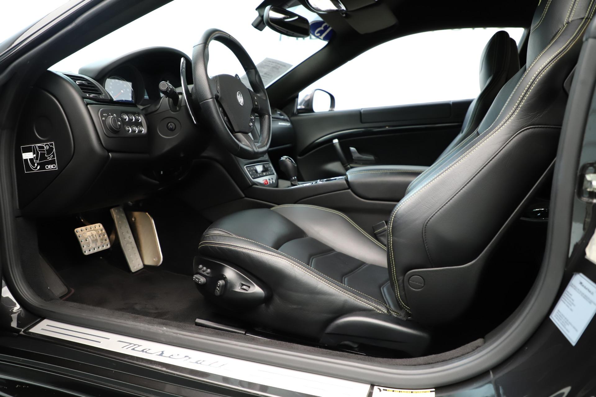 Used 2013 Maserati GranTurismo Sport For Sale In Greenwich, CT 3327_p14
