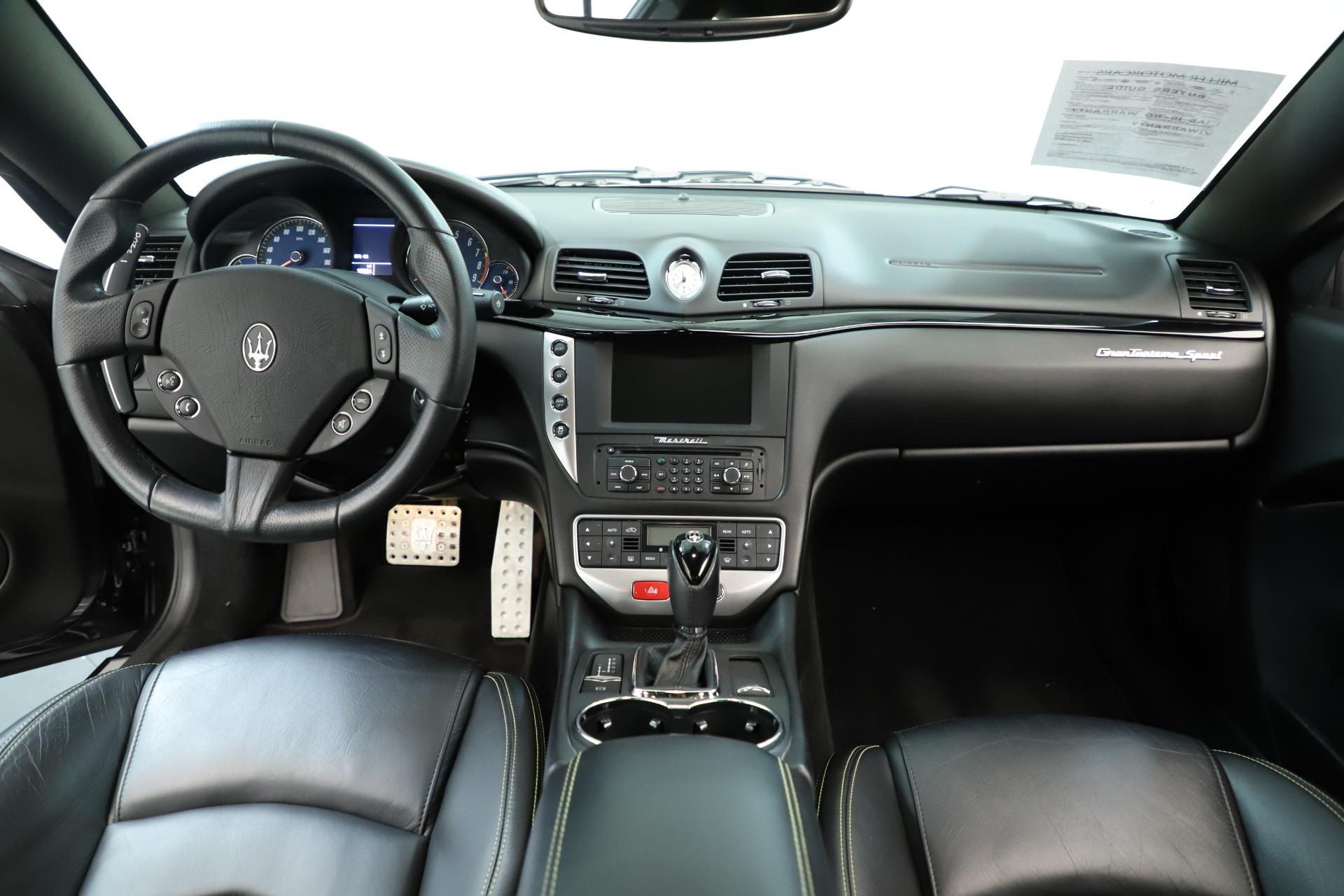 Used 2013 Maserati GranTurismo Sport For Sale In Greenwich, CT 3327_p16