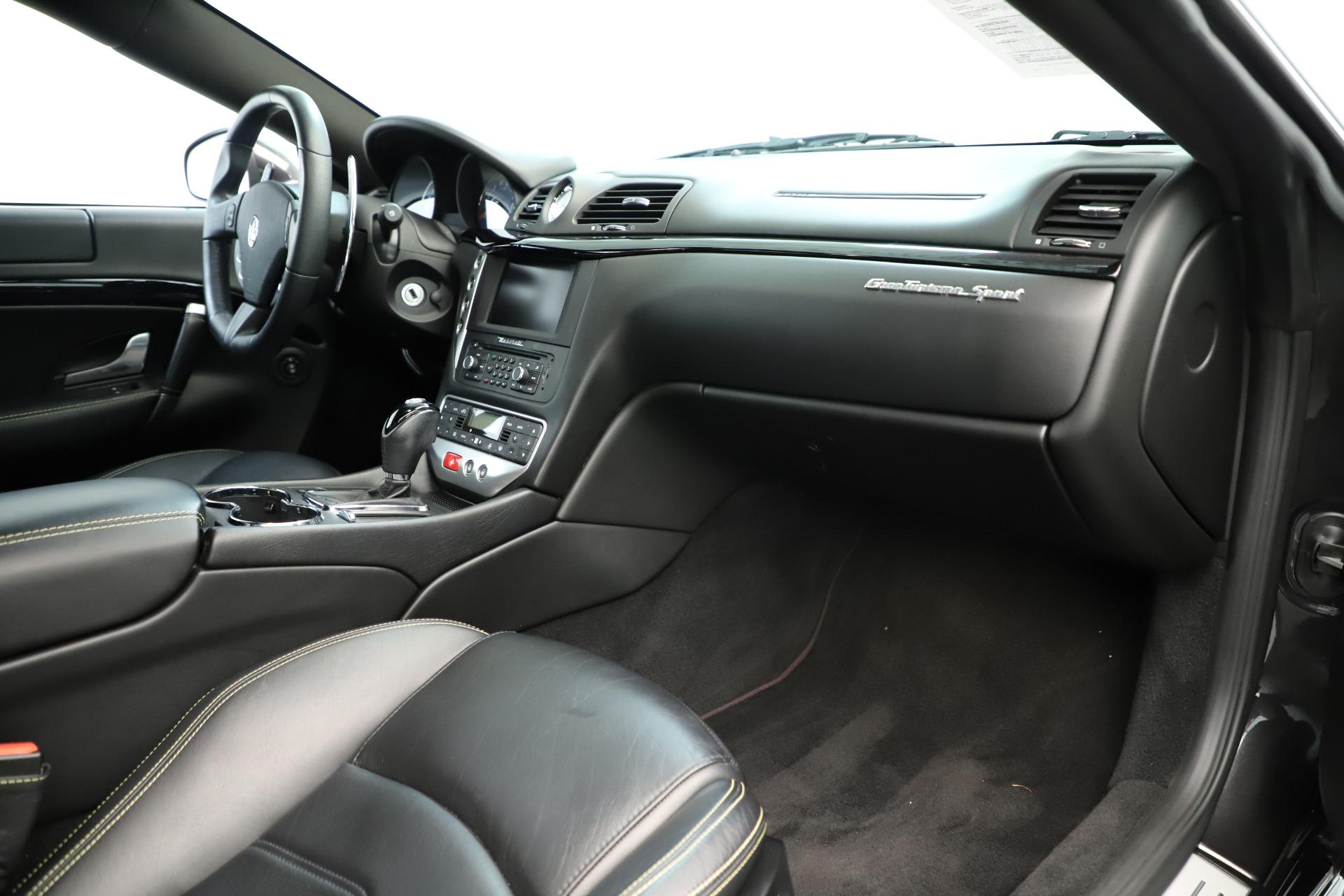 Used 2013 Maserati GranTurismo Sport For Sale In Greenwich, CT 3327_p19