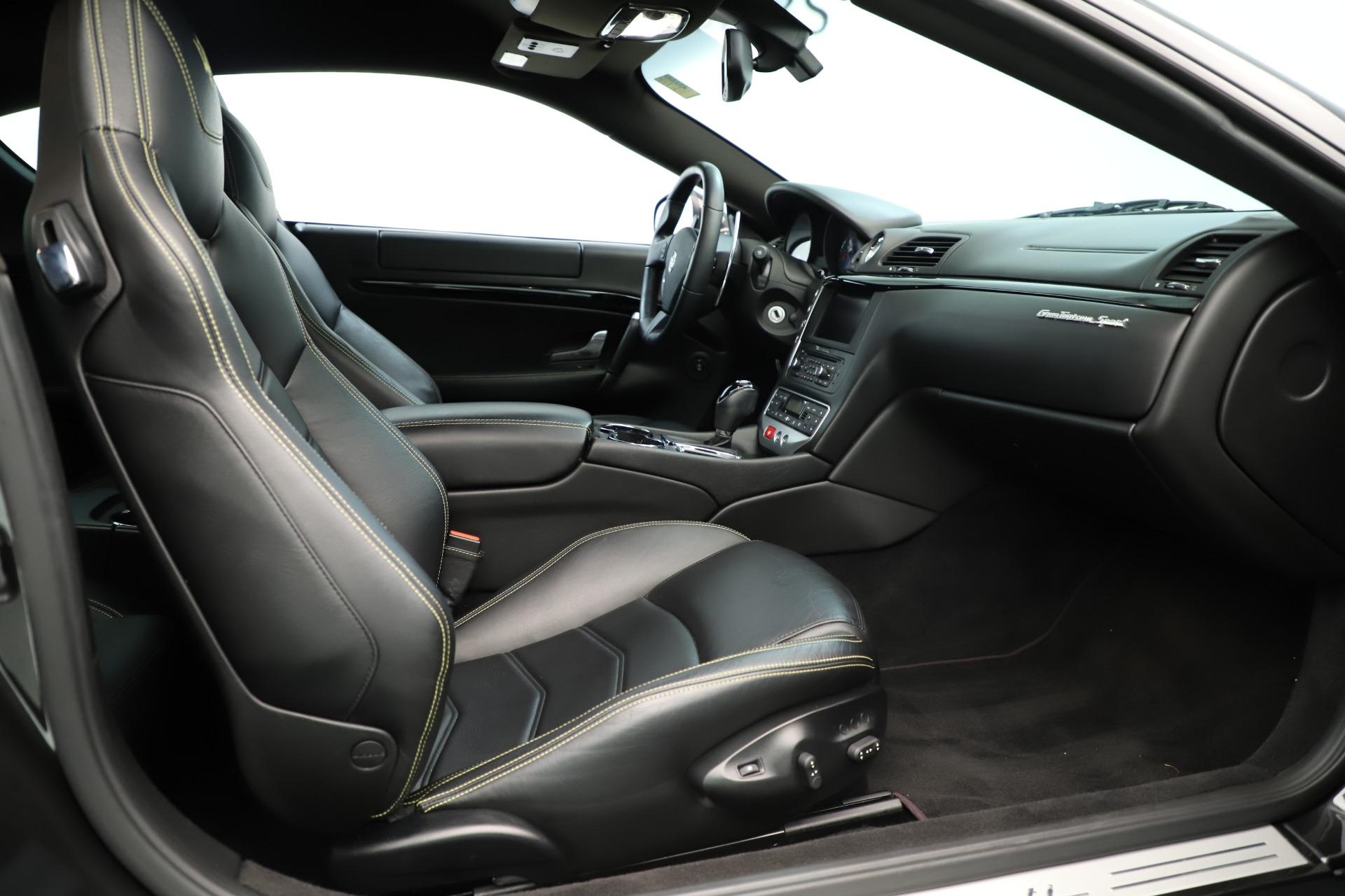 Used 2013 Maserati GranTurismo Sport For Sale In Greenwich, CT 3327_p20