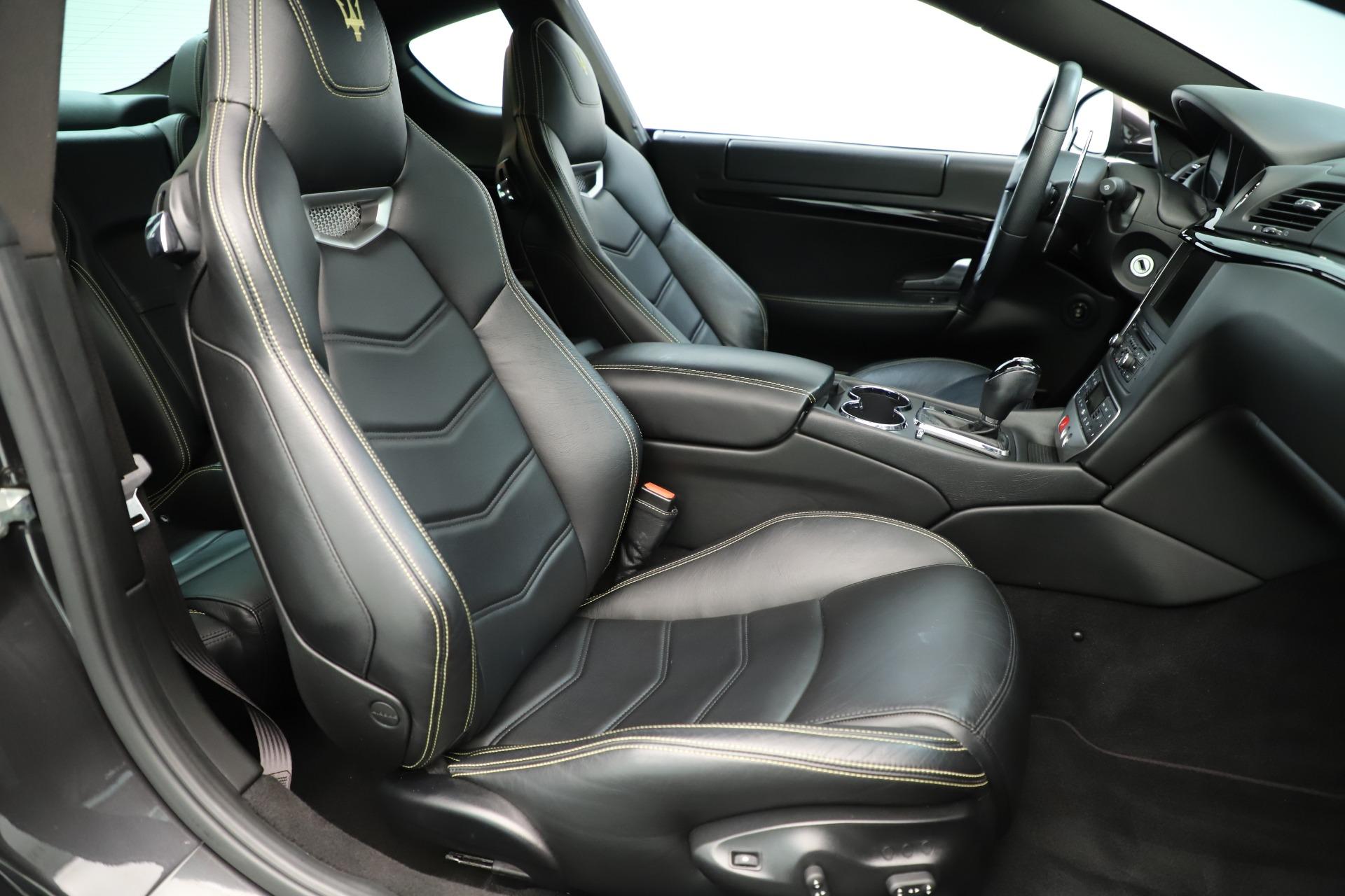 Used 2013 Maserati GranTurismo Sport For Sale In Greenwich, CT 3327_p21
