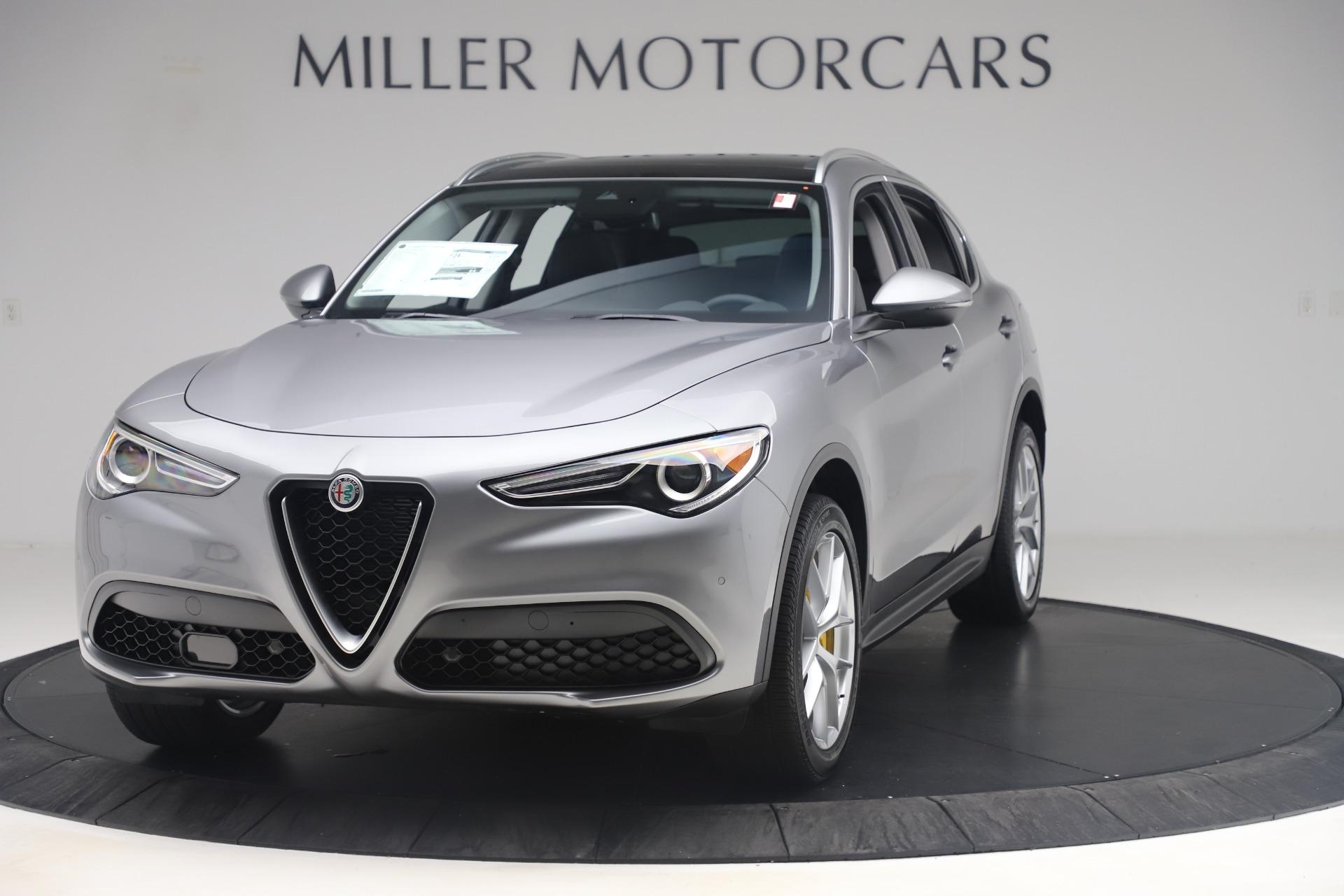 New 2019 Alfa Romeo Stelvio Ti Lusso Q4 For Sale In Greenwich, CT 3333_main