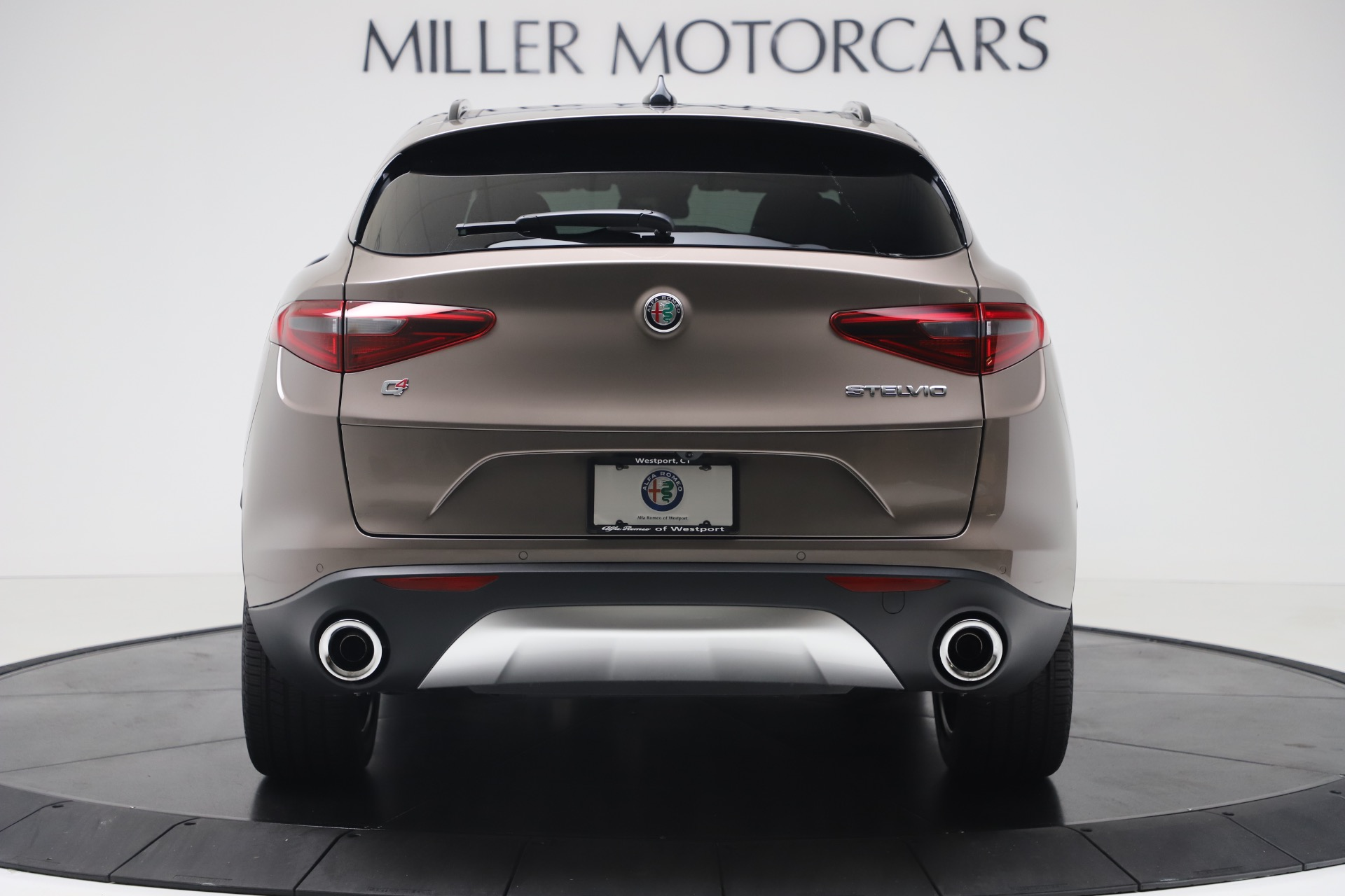 New 2019 Alfa Romeo Stelvio Ti Sport Q4 For Sale In Greenwich, CT 3337_p6