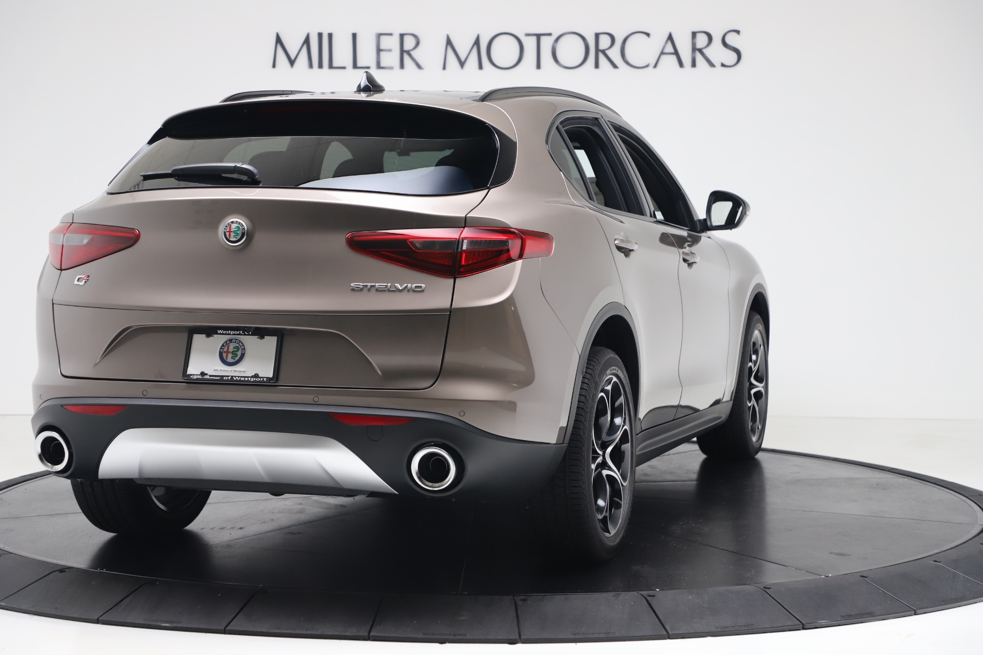 New 2019 Alfa Romeo Stelvio Ti Sport Q4 For Sale In Greenwich, CT 3337_p7