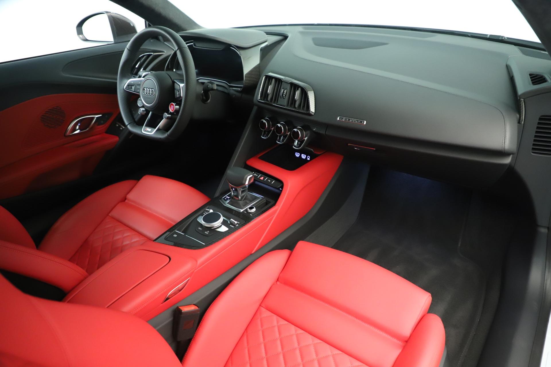 Used 2018 Audi R8 5.2 quattro V10 Plus For Sale In Greenwich, CT 3360_p18