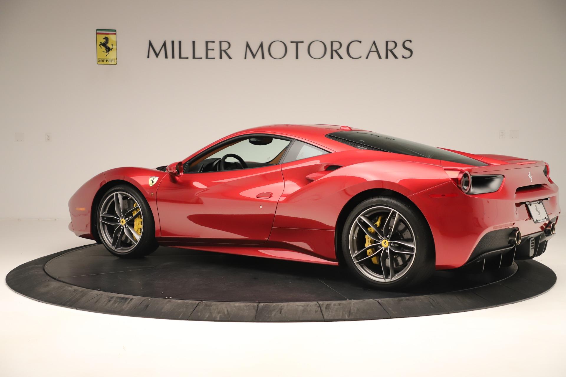 Used 2018 Ferrari 488 GTB  For Sale In Greenwich, CT 3362_p4