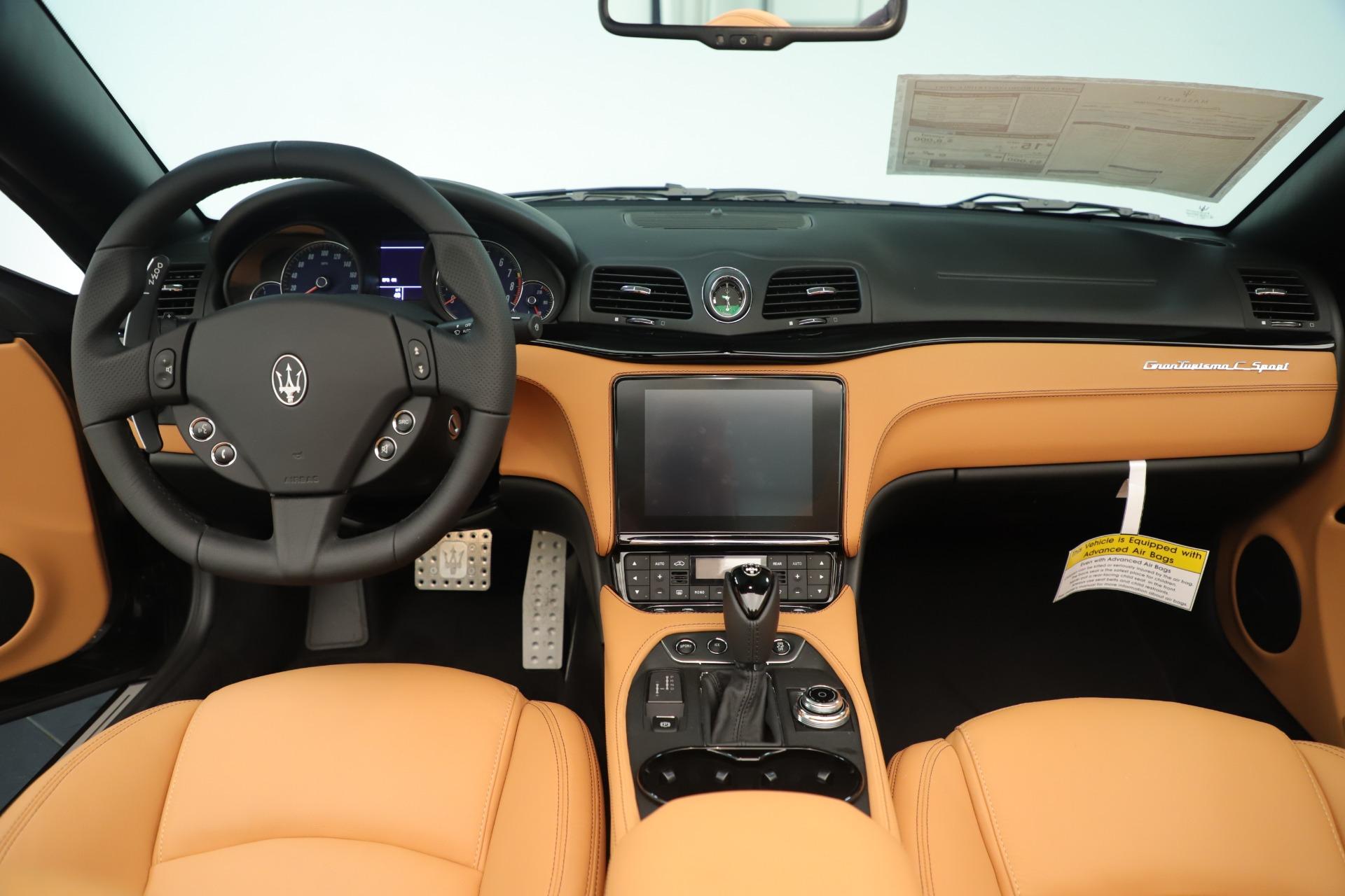 New 2019 Maserati GranTurismo Sport Convertible For Sale In Greenwich, CT 3367_p22