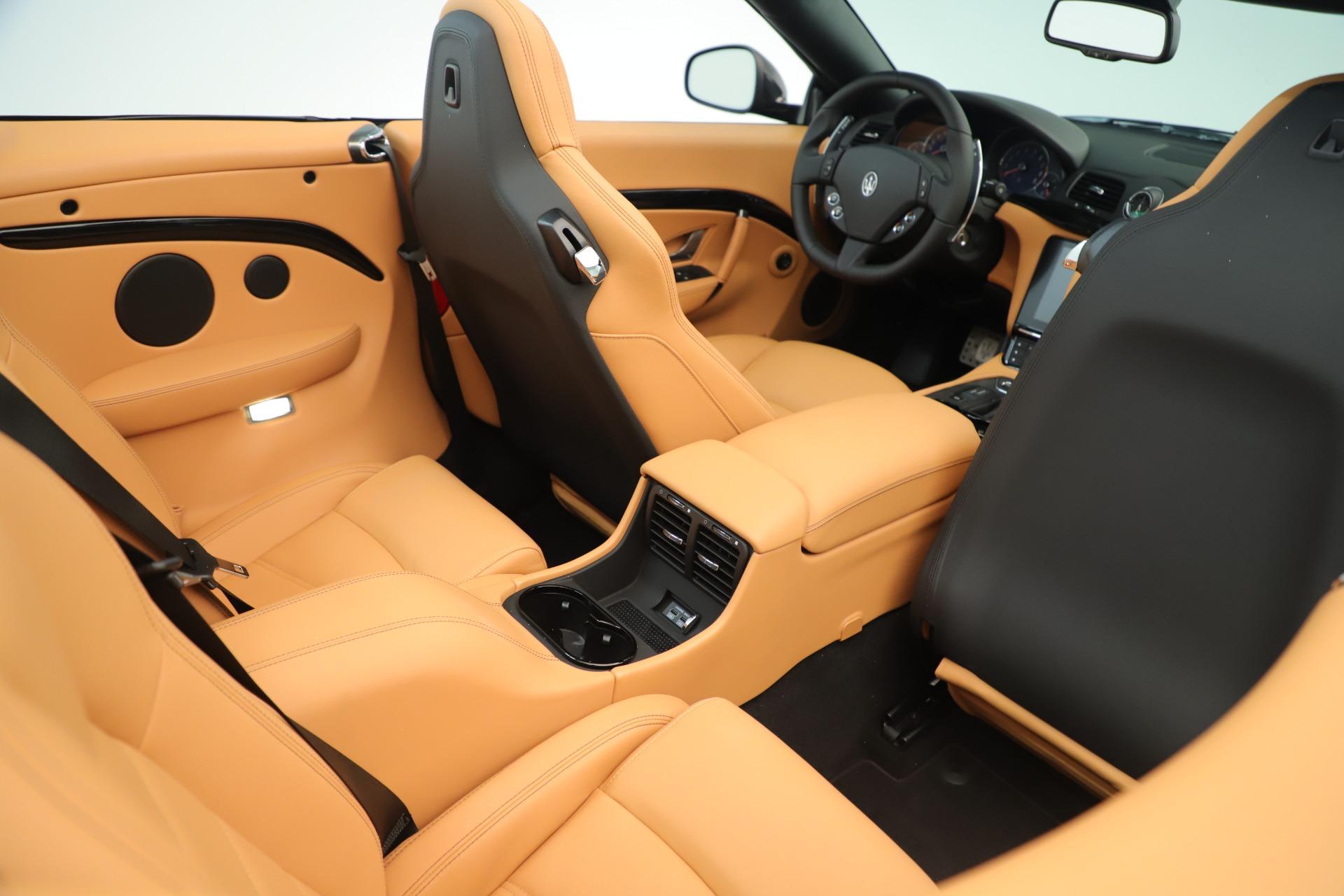 New 2019 Maserati GranTurismo Sport Convertible For Sale In Greenwich, CT 3367_p30