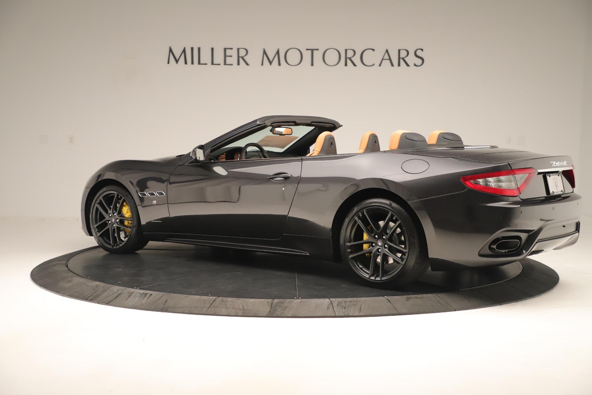 New 2019 Maserati GranTurismo Sport Convertible For Sale In Greenwich, CT 3367_p4