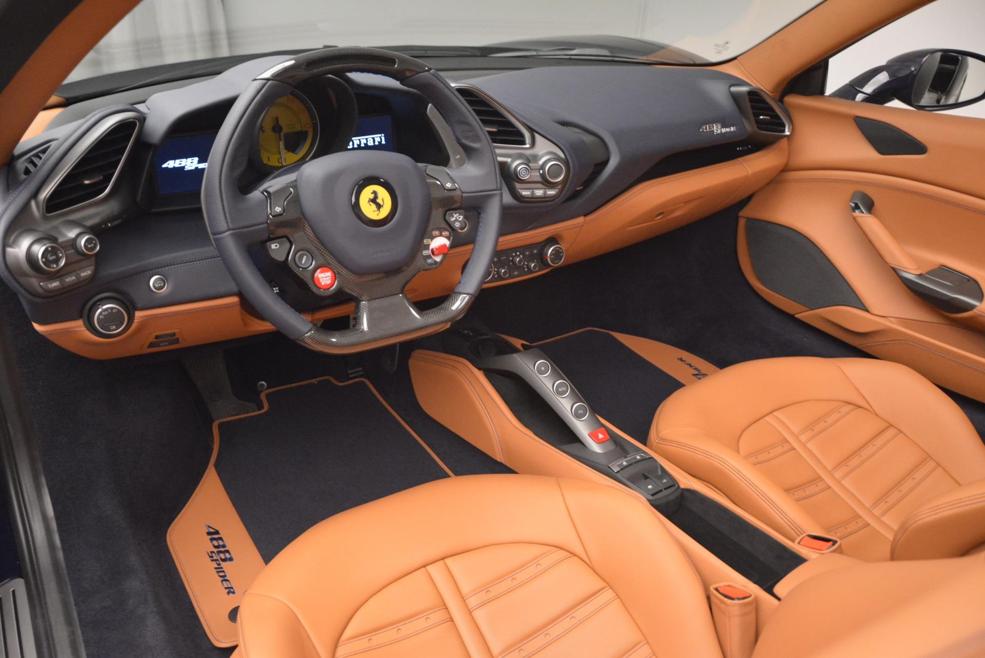 Used 2018 Ferrari 488 Spider  For Sale In Greenwich, CT 3371_p25
