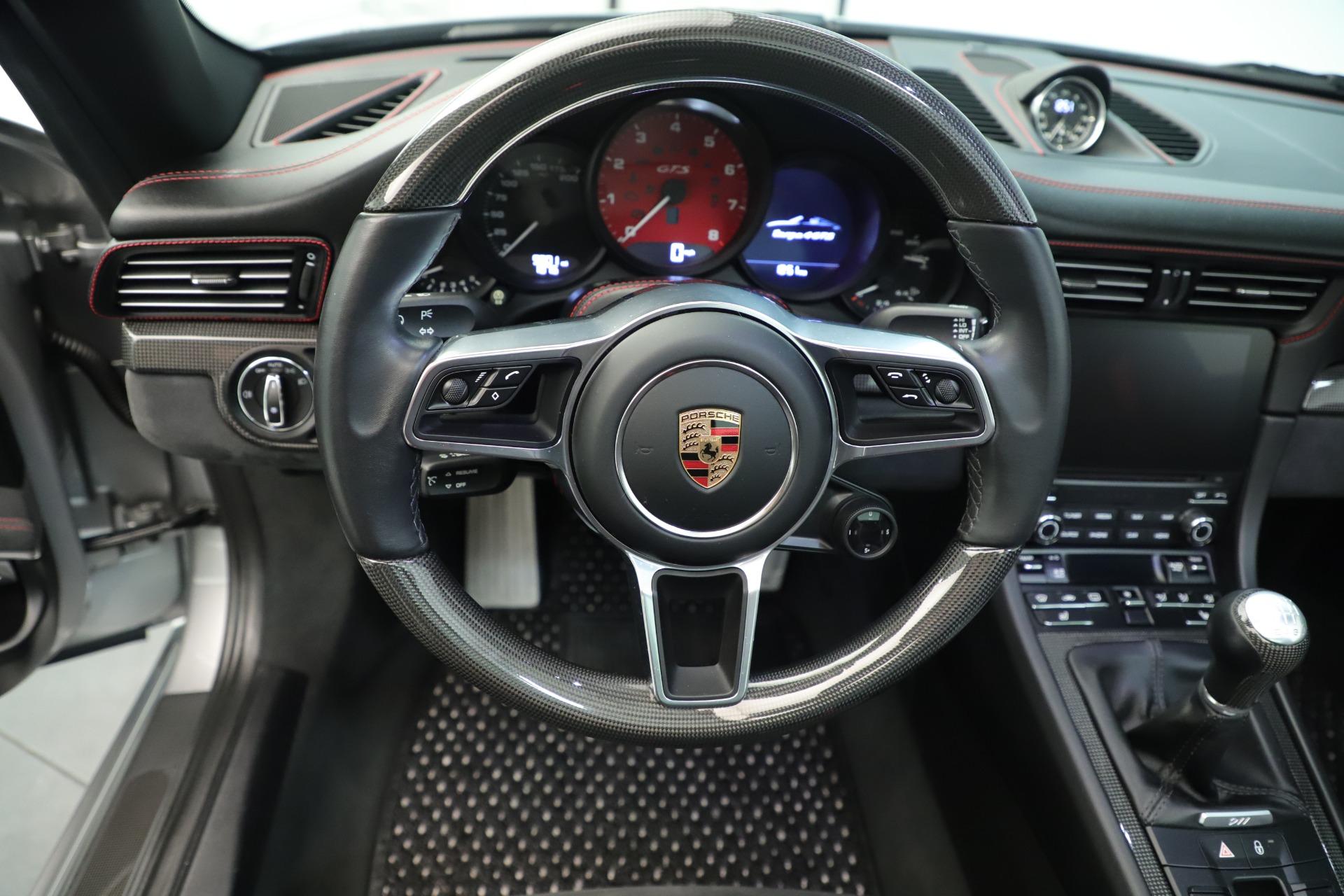 Used 2017 Porsche 911 Targa 4 GTS For Sale In Greenwich, CT 3374_p25