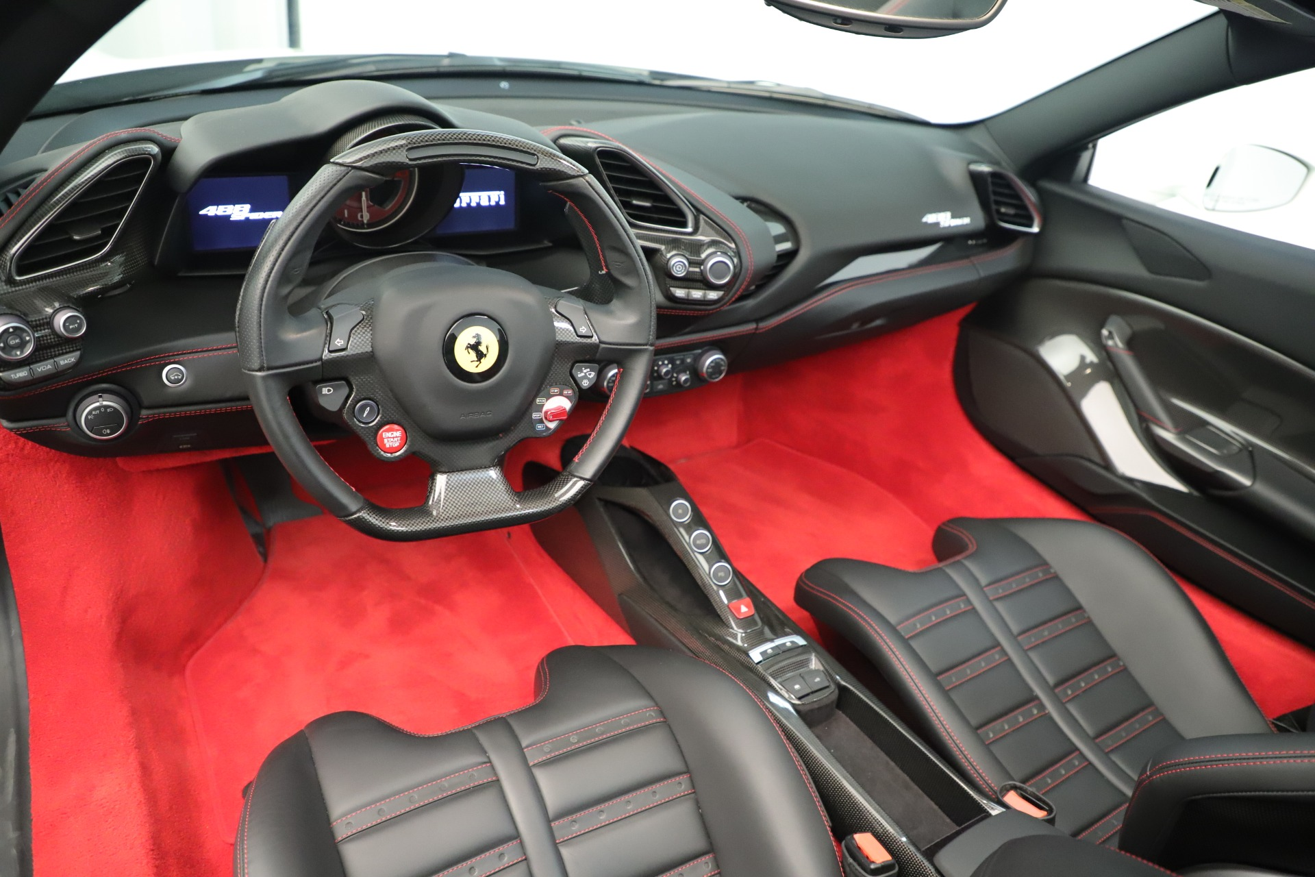 Used 2016 Ferrari 488 Spider  For Sale In Greenwich, CT 3375_p20