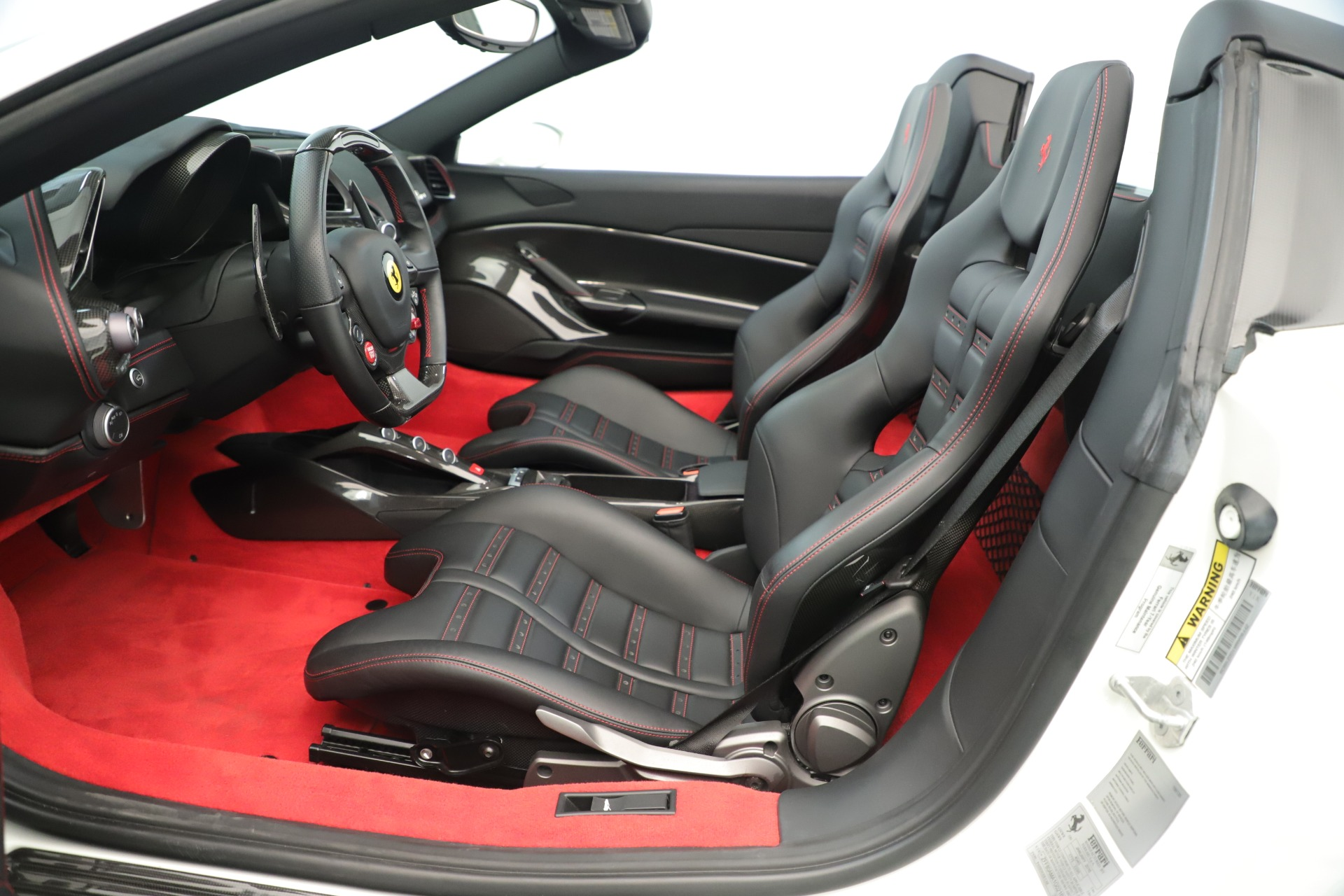 Used 2016 Ferrari 488 Spider  For Sale In Greenwich, CT 3375_p21