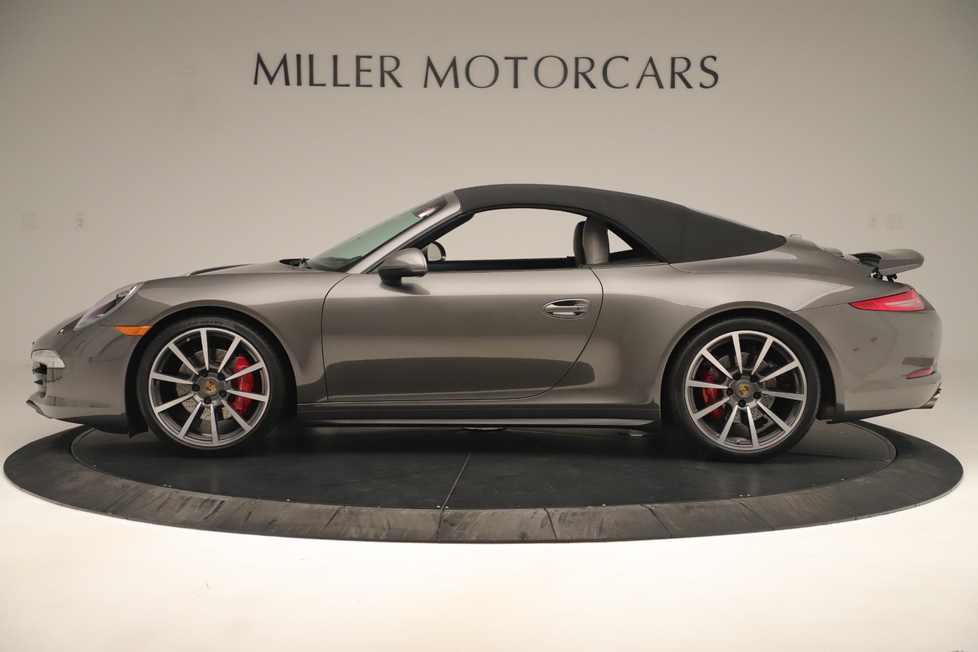 Used 2015 Porsche 911 Carrera 4S For Sale In Greenwich, CT 3383_p13