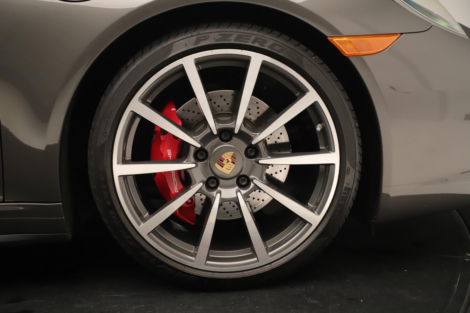Used 2015 Porsche 911 Carrera 4S For Sale In Greenwich, CT 3383_p18