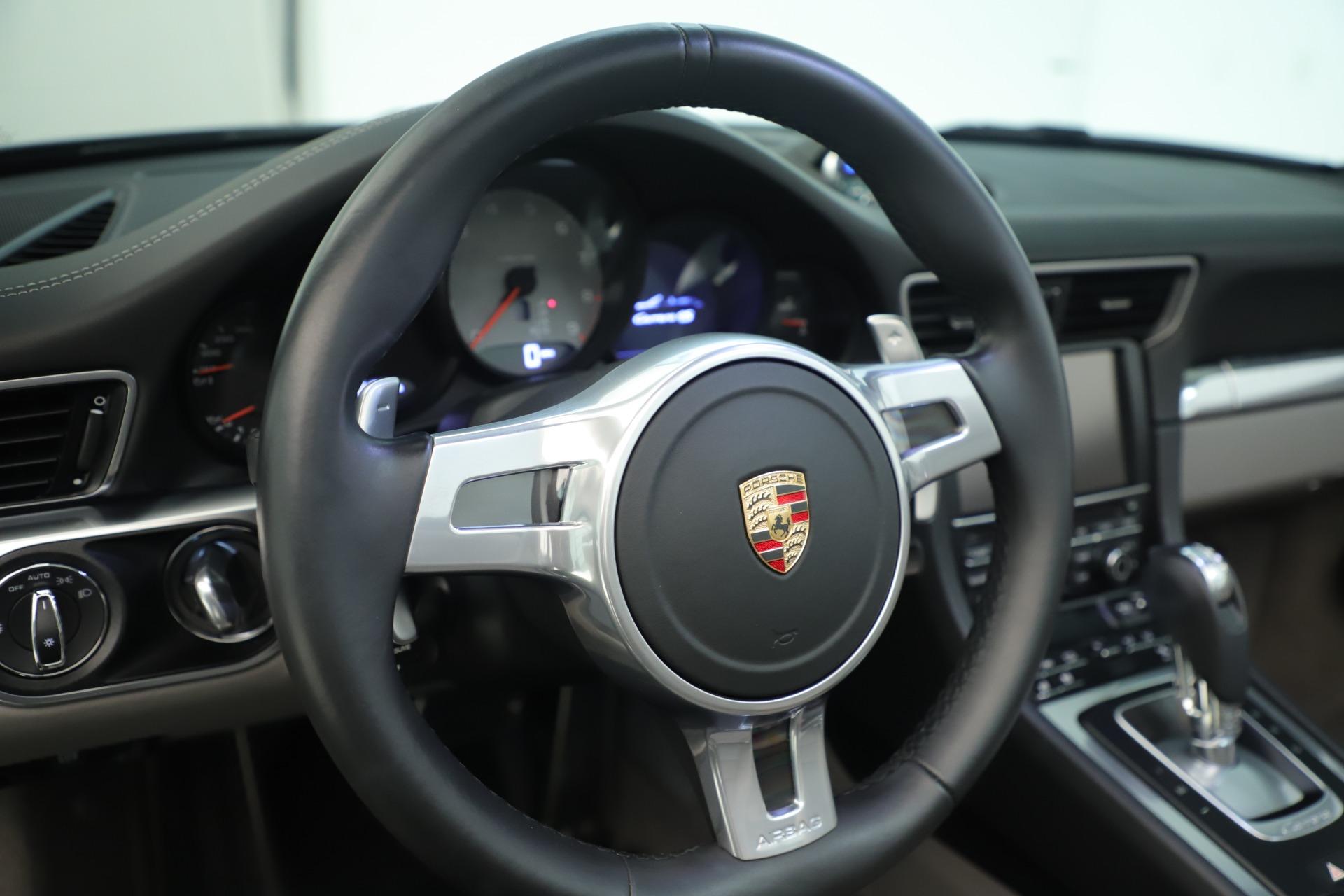 Used 2015 Porsche 911 Carrera 4S For Sale In Greenwich, CT 3383_p28