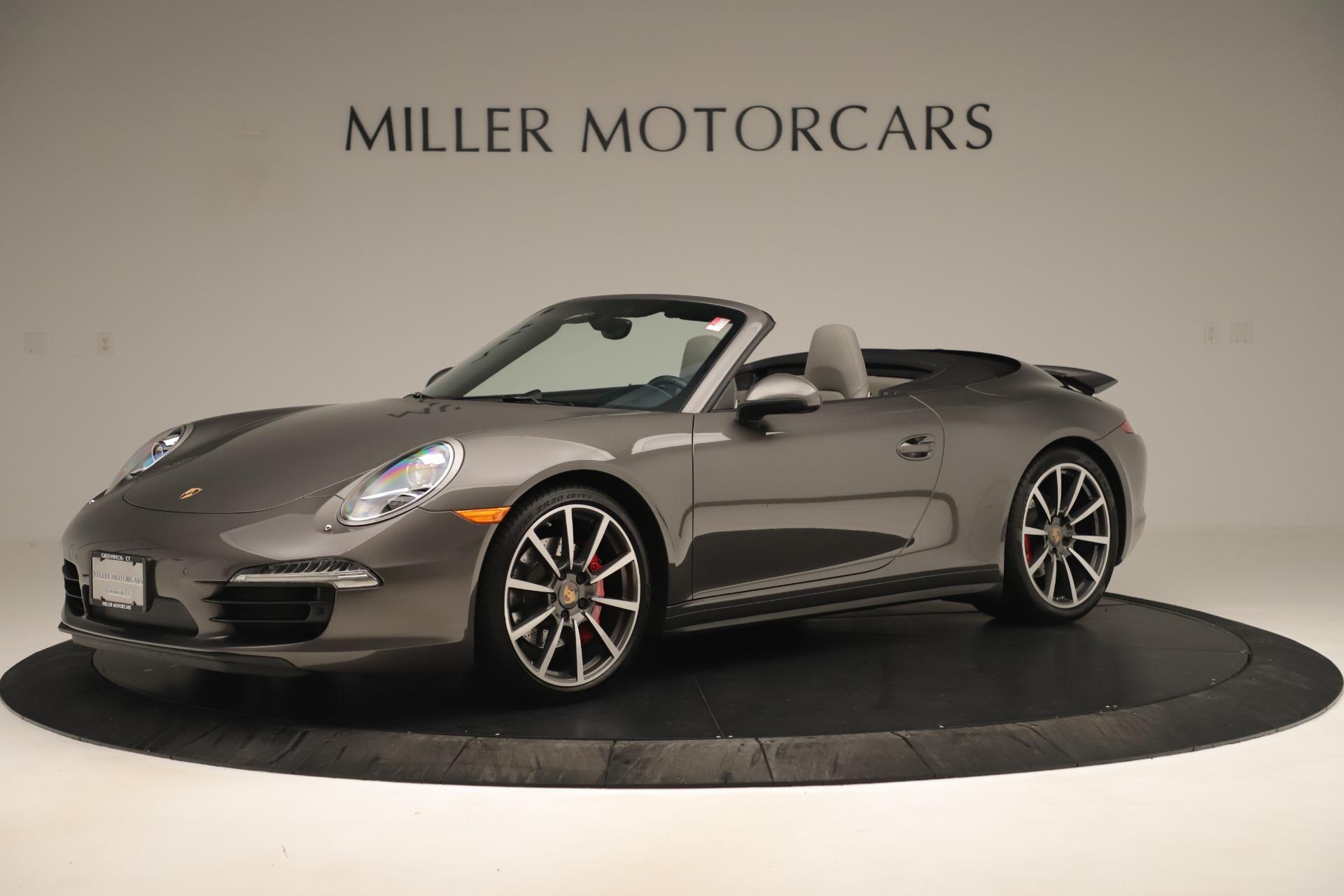 Used 2015 Porsche 911 Carrera 4S For Sale In Greenwich, CT 3383_p2