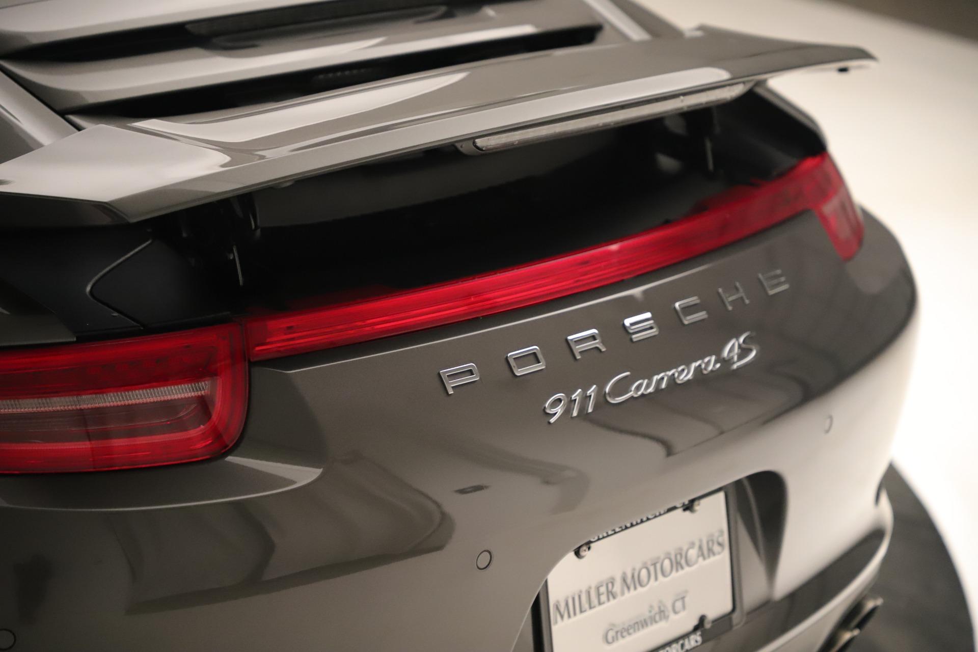 Used 2015 Porsche 911 Carrera 4S For Sale In Greenwich, CT 3383_p31