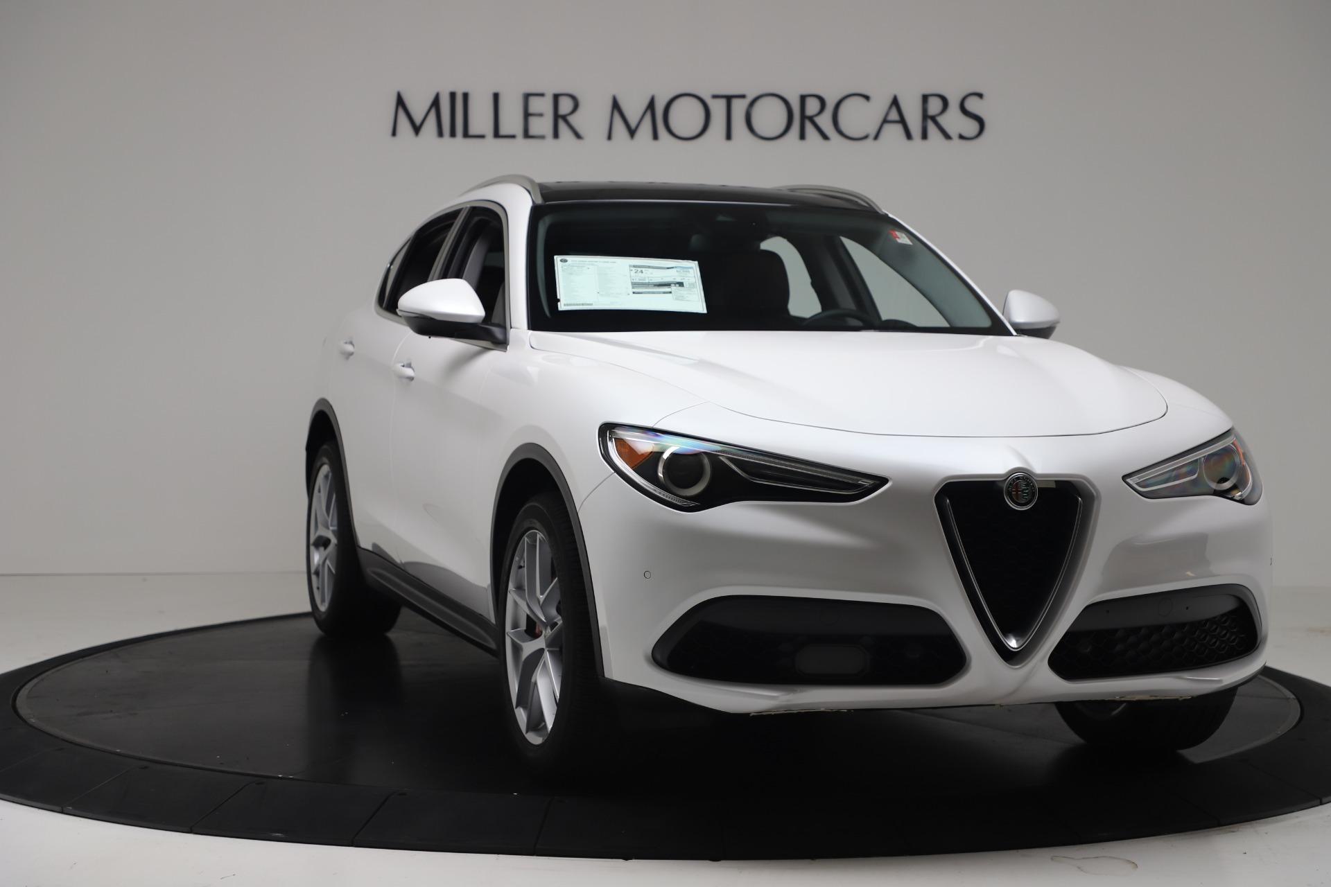 New 2019 Alfa Romeo Stelvio Ti Lusso Q4 For Sale In Greenwich, CT 3397_p11