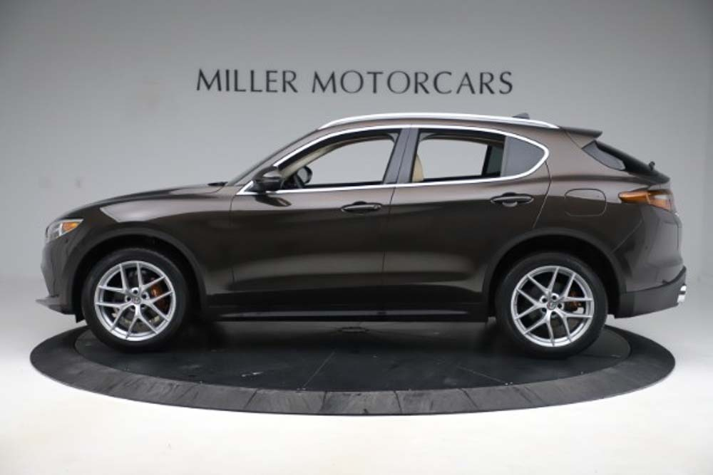 New 2019 Alfa Romeo Stelvio Ti Lusso Q4 For Sale In Greenwich, CT 3404_p3