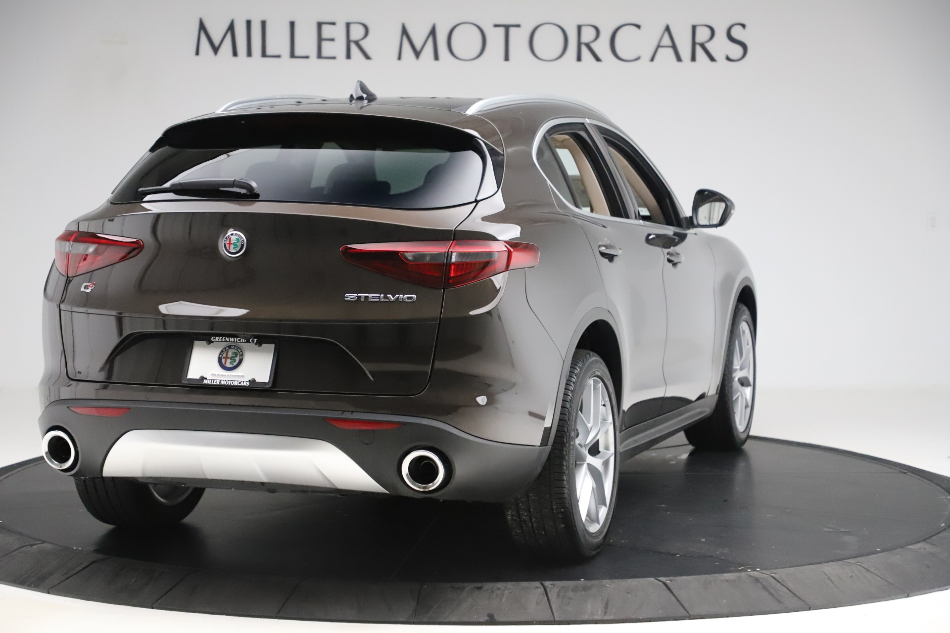 New 2019 Alfa Romeo Stelvio Ti Lusso Q4 For Sale In Greenwich, CT 3404_p7