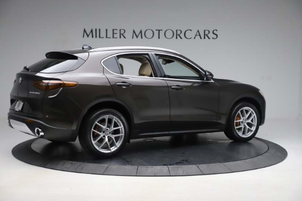 New 2019 Alfa Romeo Stelvio Ti Lusso Q4 For Sale In Greenwich, CT 3404_p8